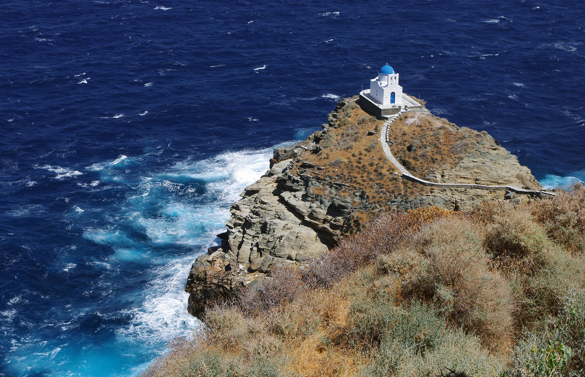 The Church of the Seven Martyrs on Sifnos (Image: sarikosta/Shutterstock)