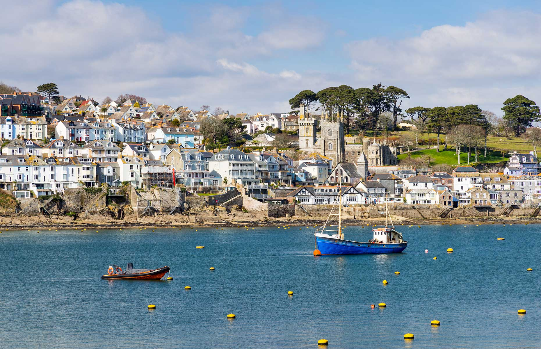 Fowey harbour, Cornwall, South Coast