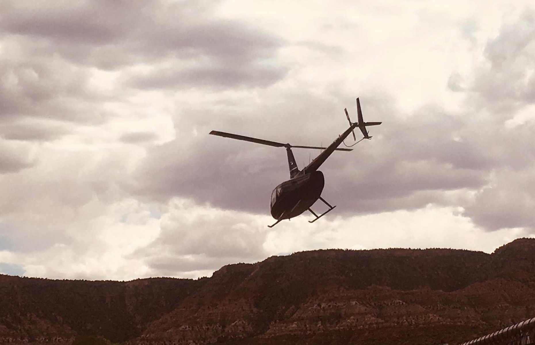 Zion helicopters tour