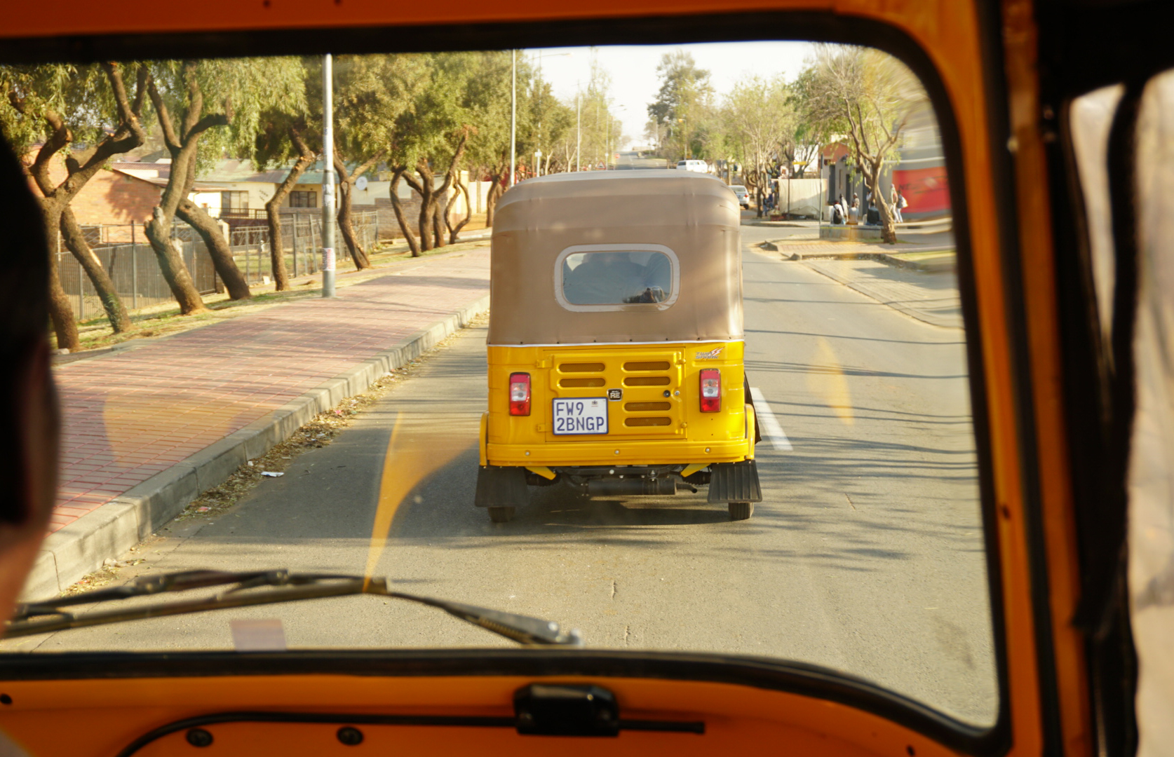 Tuk tuk, Soweto