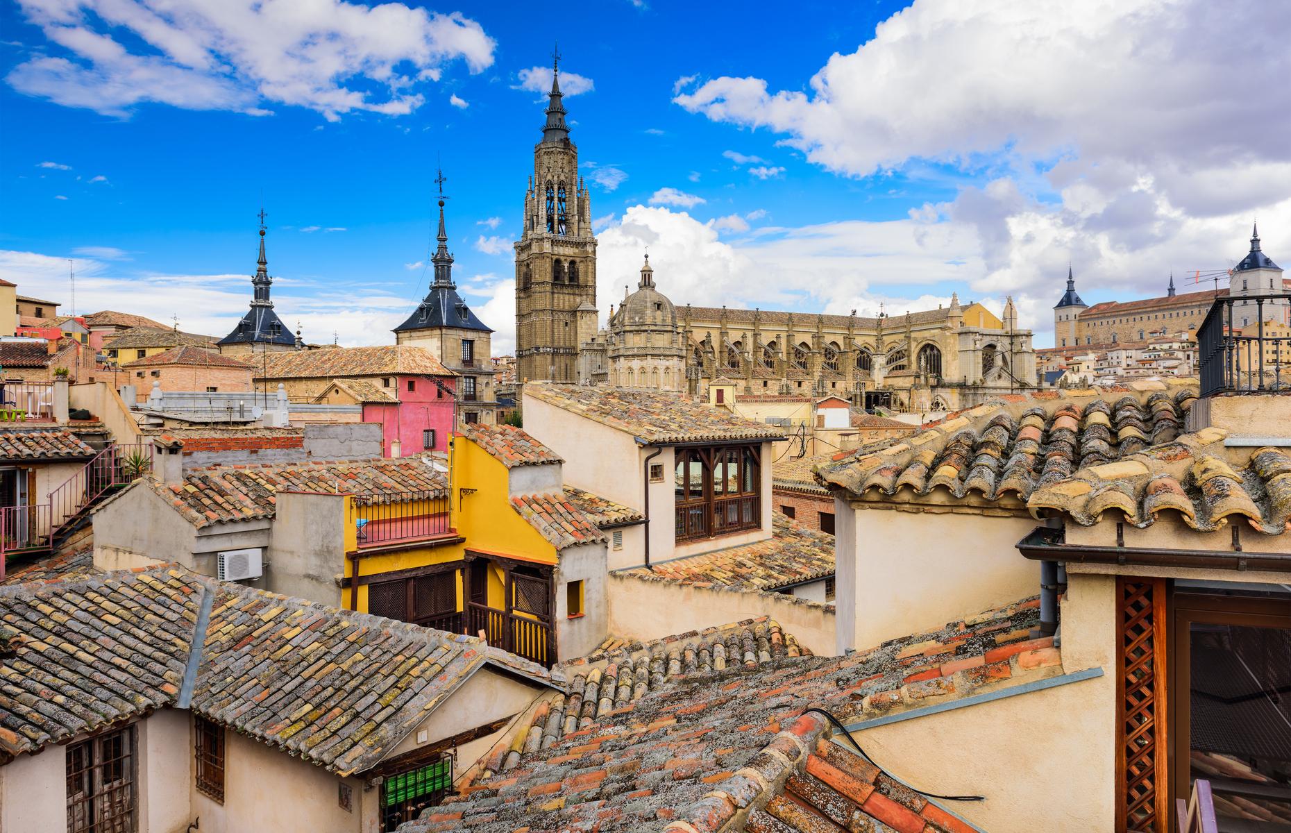 Toledo rooftops