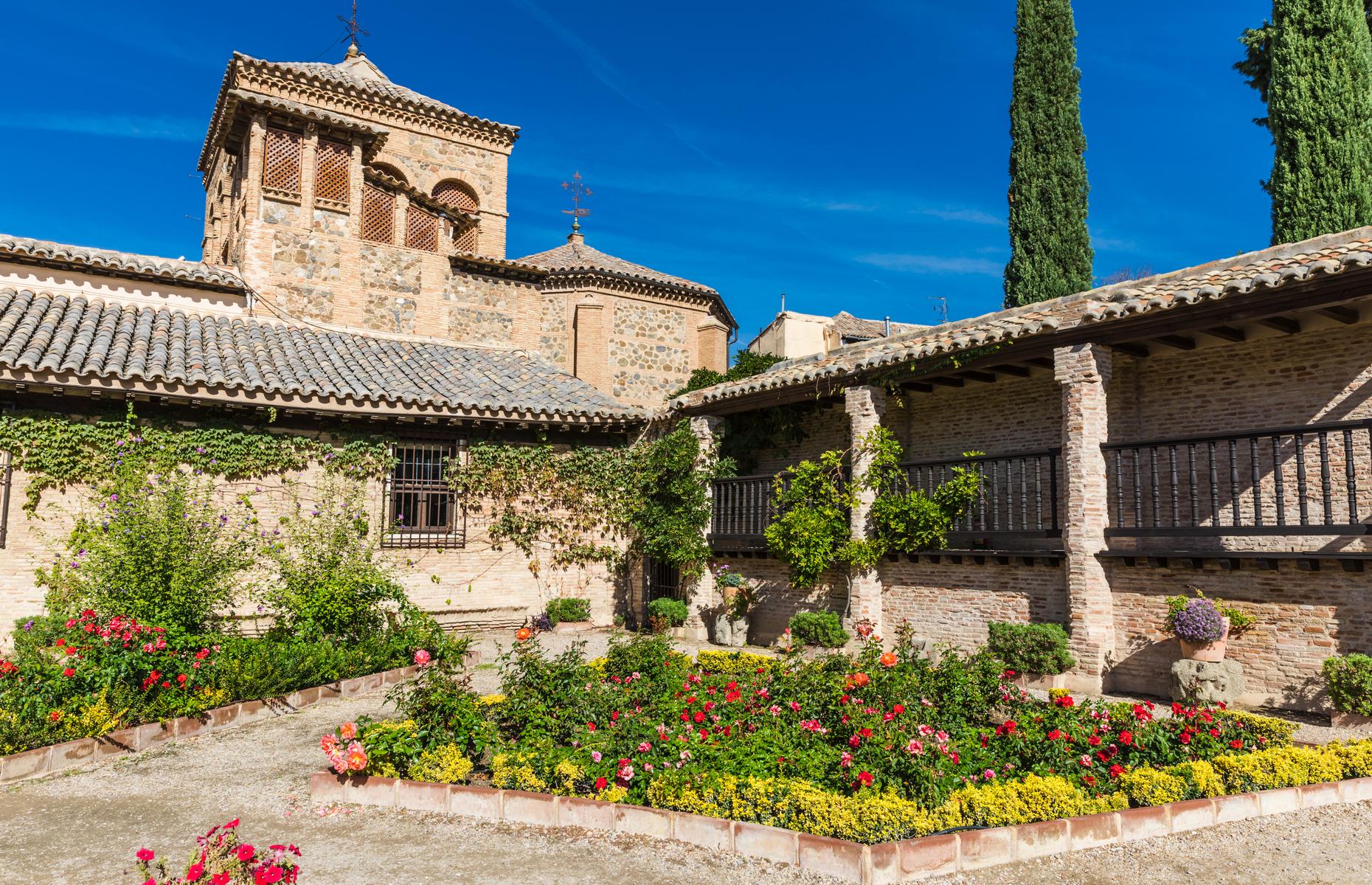 El Greco museum courtyard