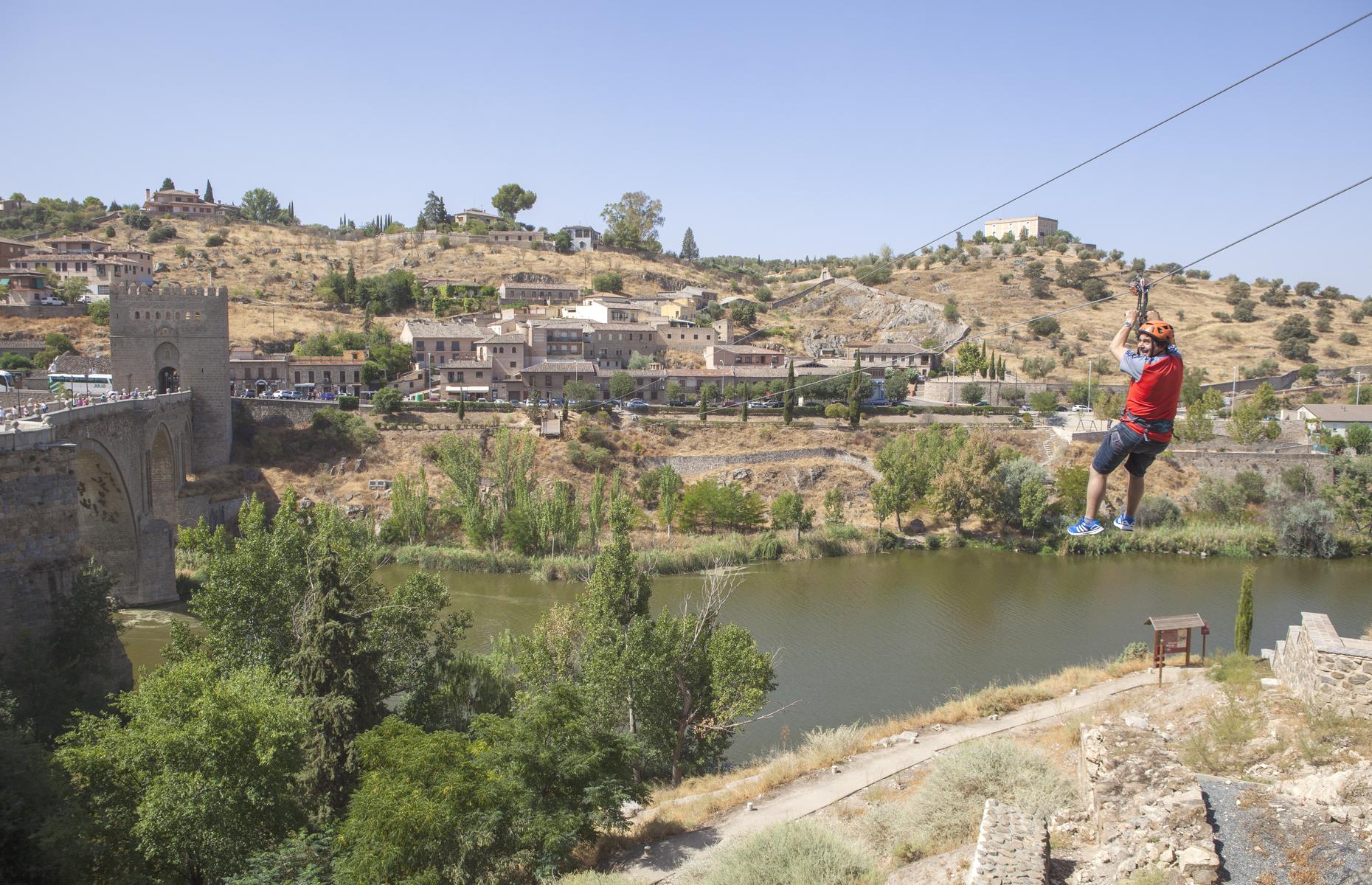 Toledo zipline