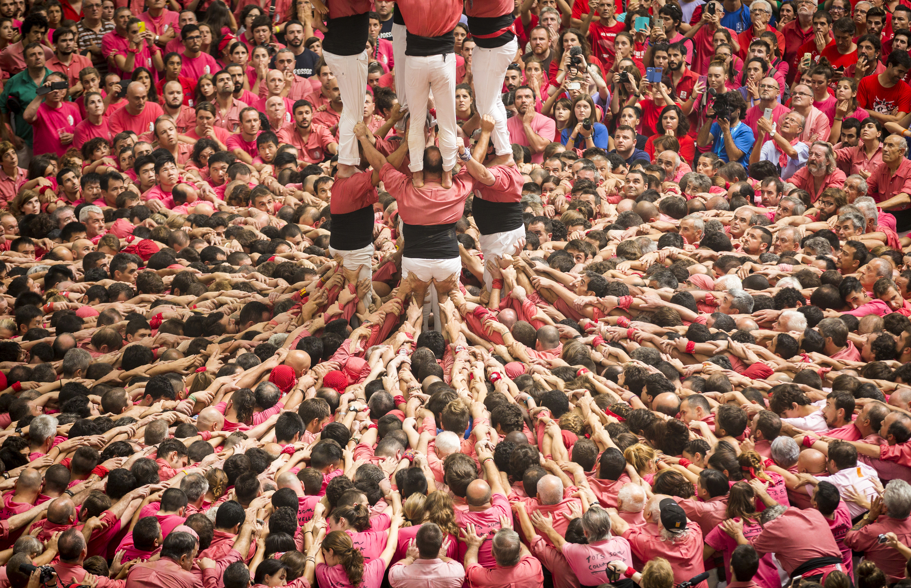 Human Towers, Catalonia, Spain