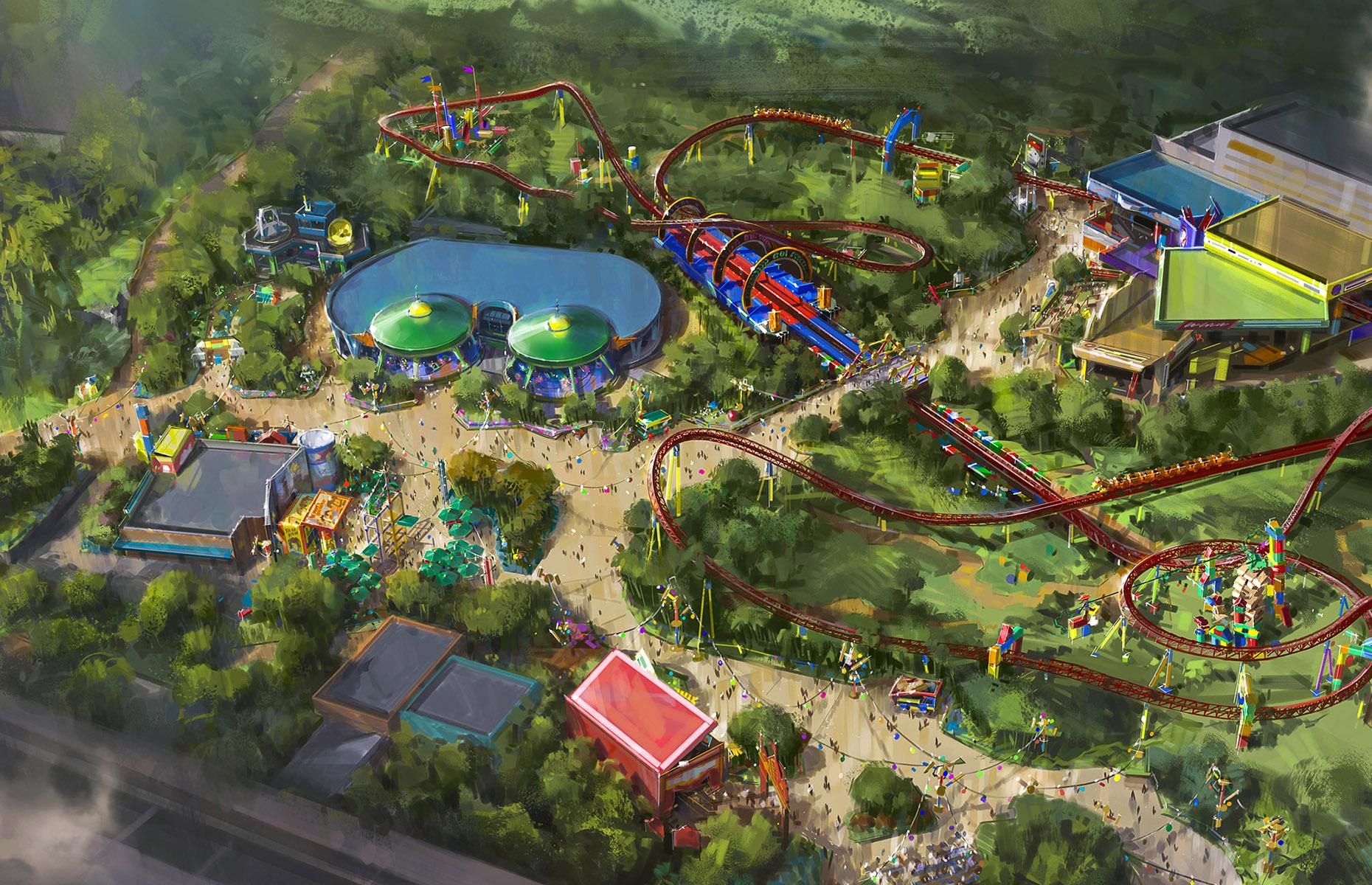 Toy Story Land, Disney