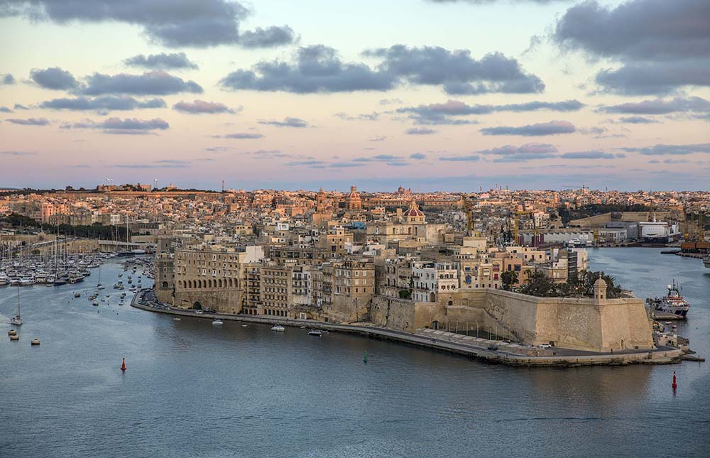 Valletta sunset, by Nori Jemil