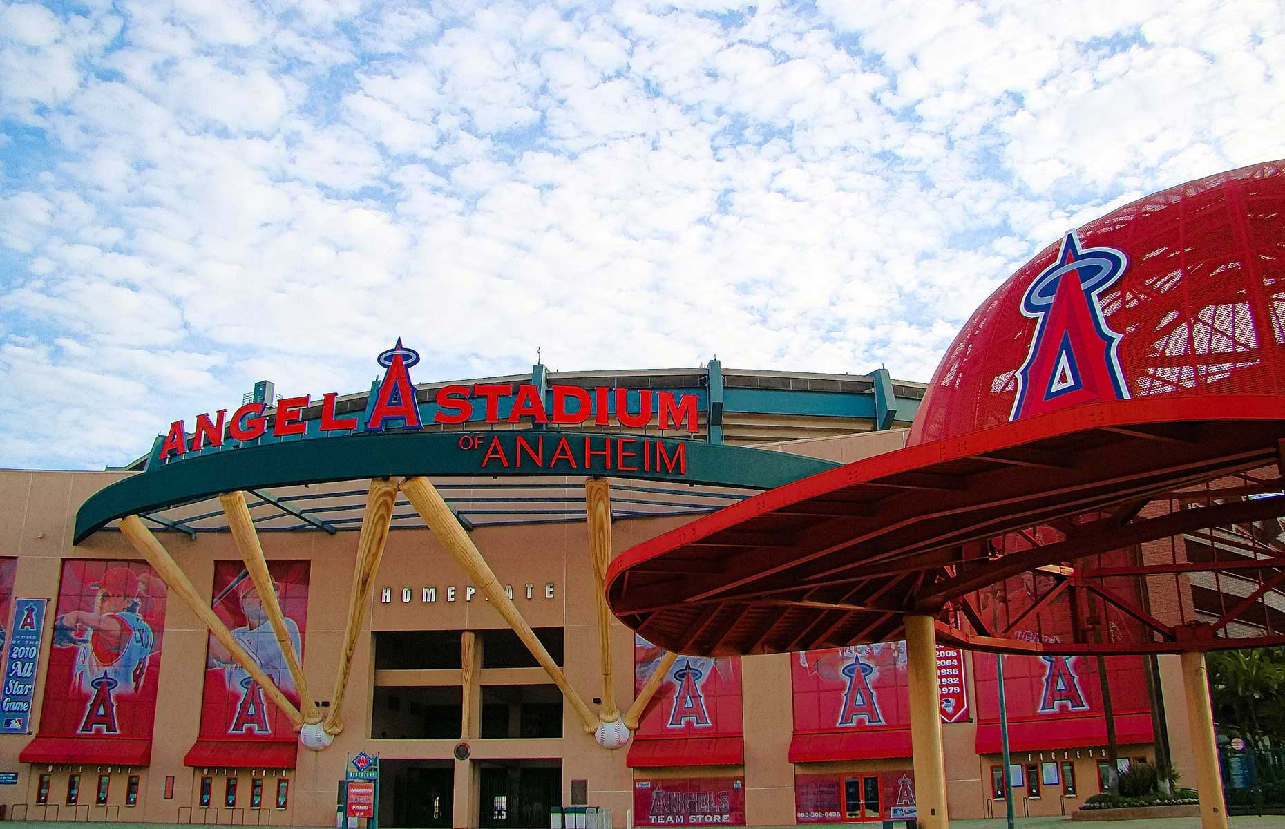 Anaheim Angels stadium, California