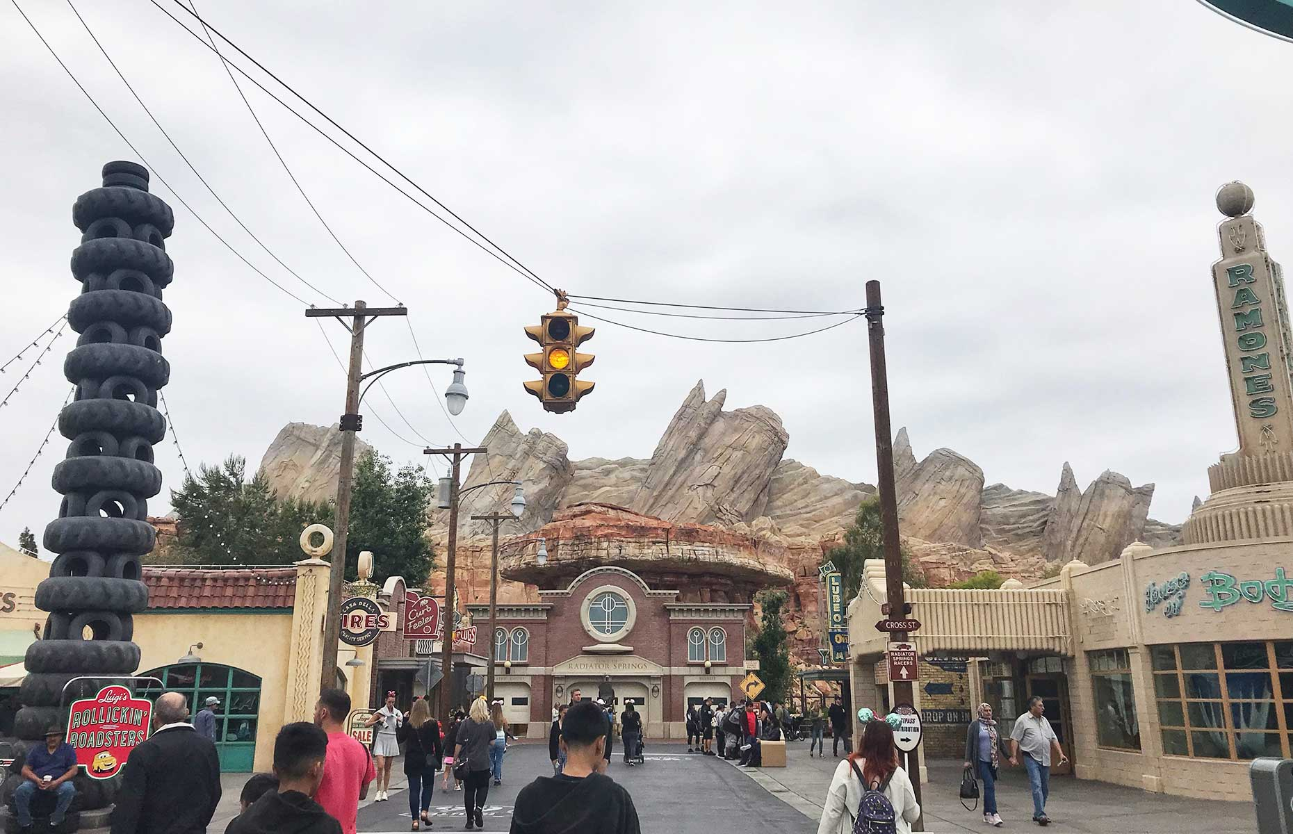 Cars Land at Disney's California Adventure Park