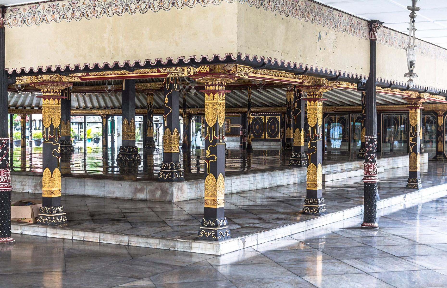 Palace of Yogyakarta (Image: Robin Runck/Shutterstock)
