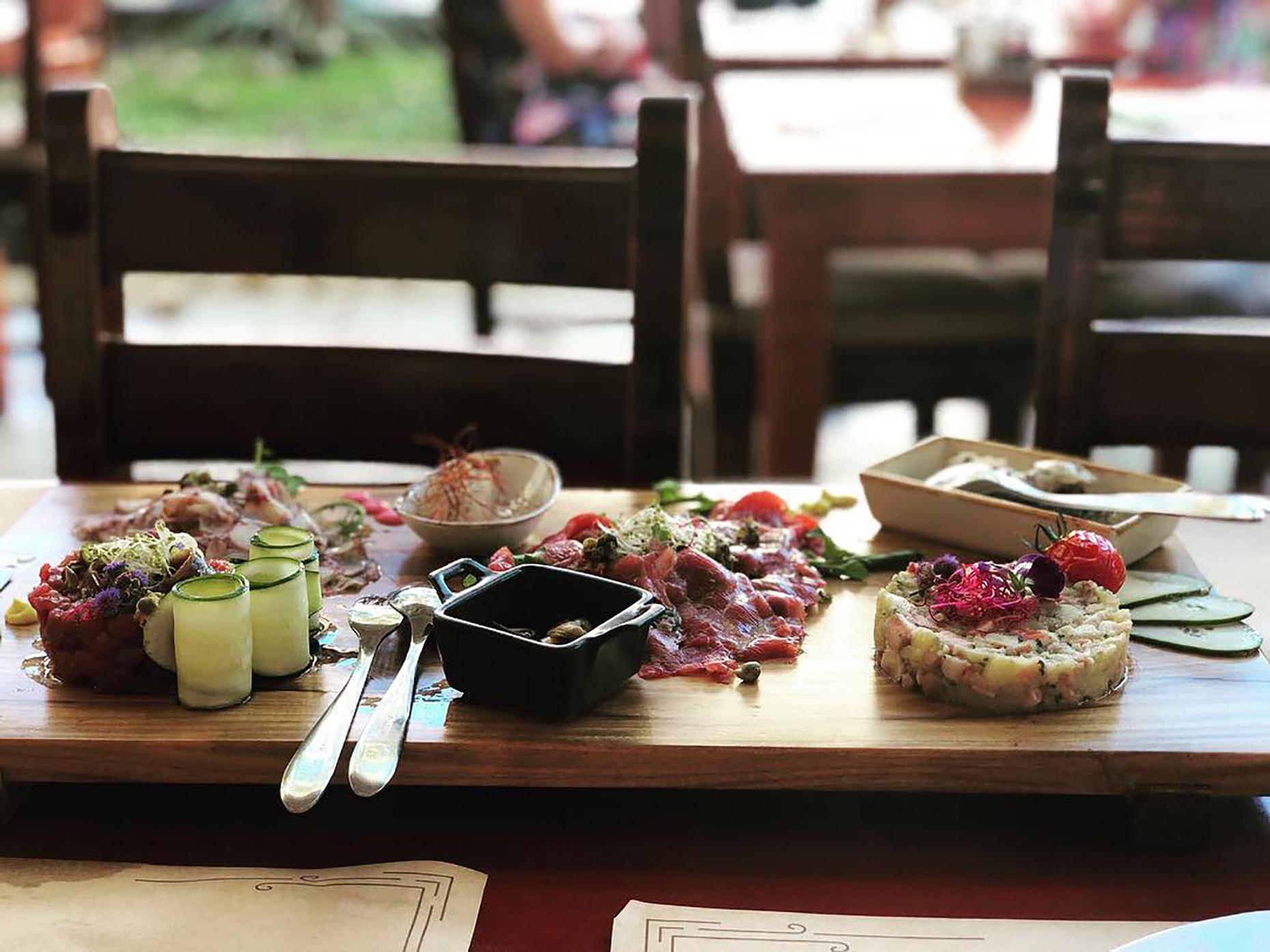 Dishes at Skoblar, Zadar