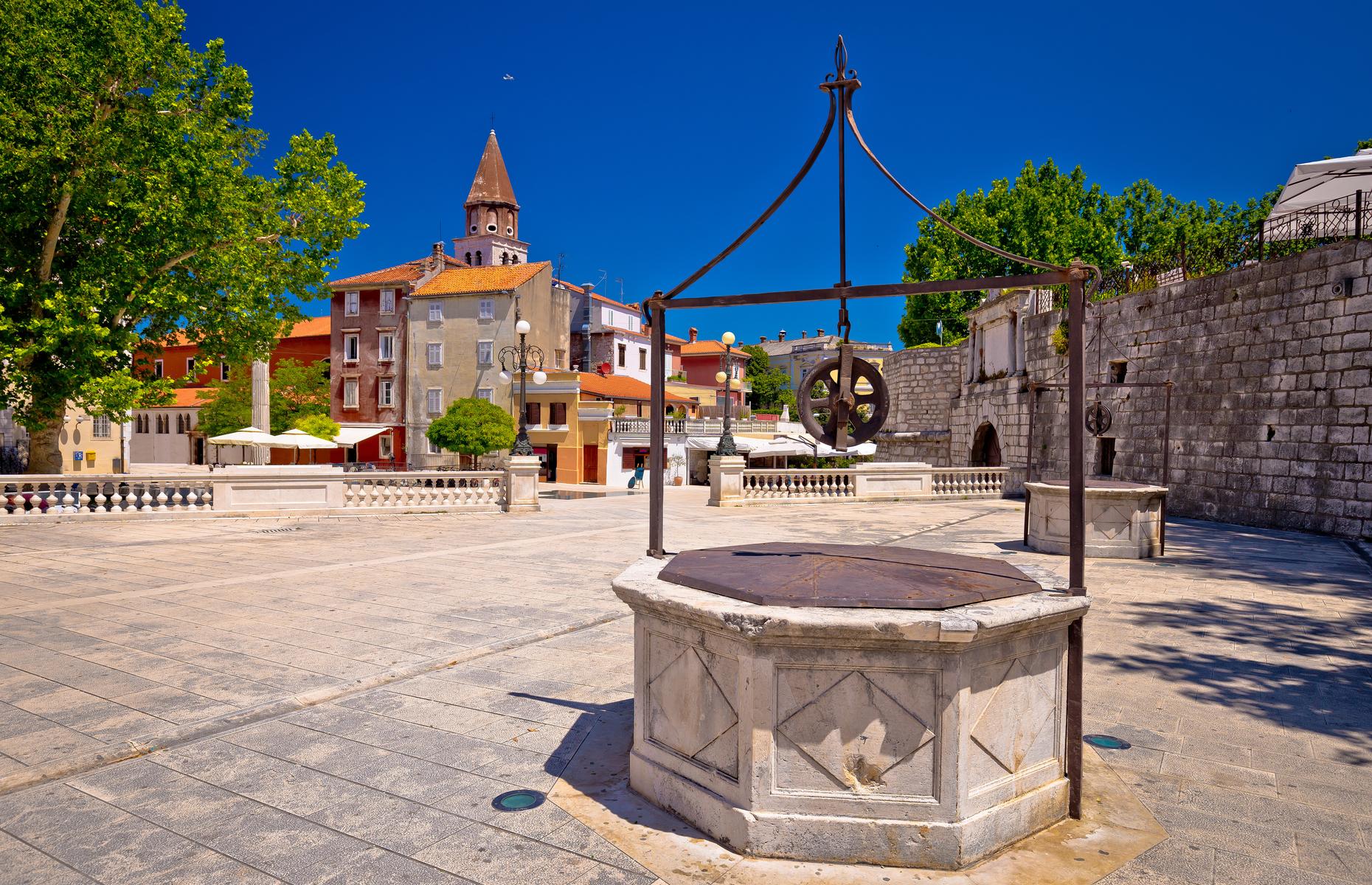 Zadar ancient architecture