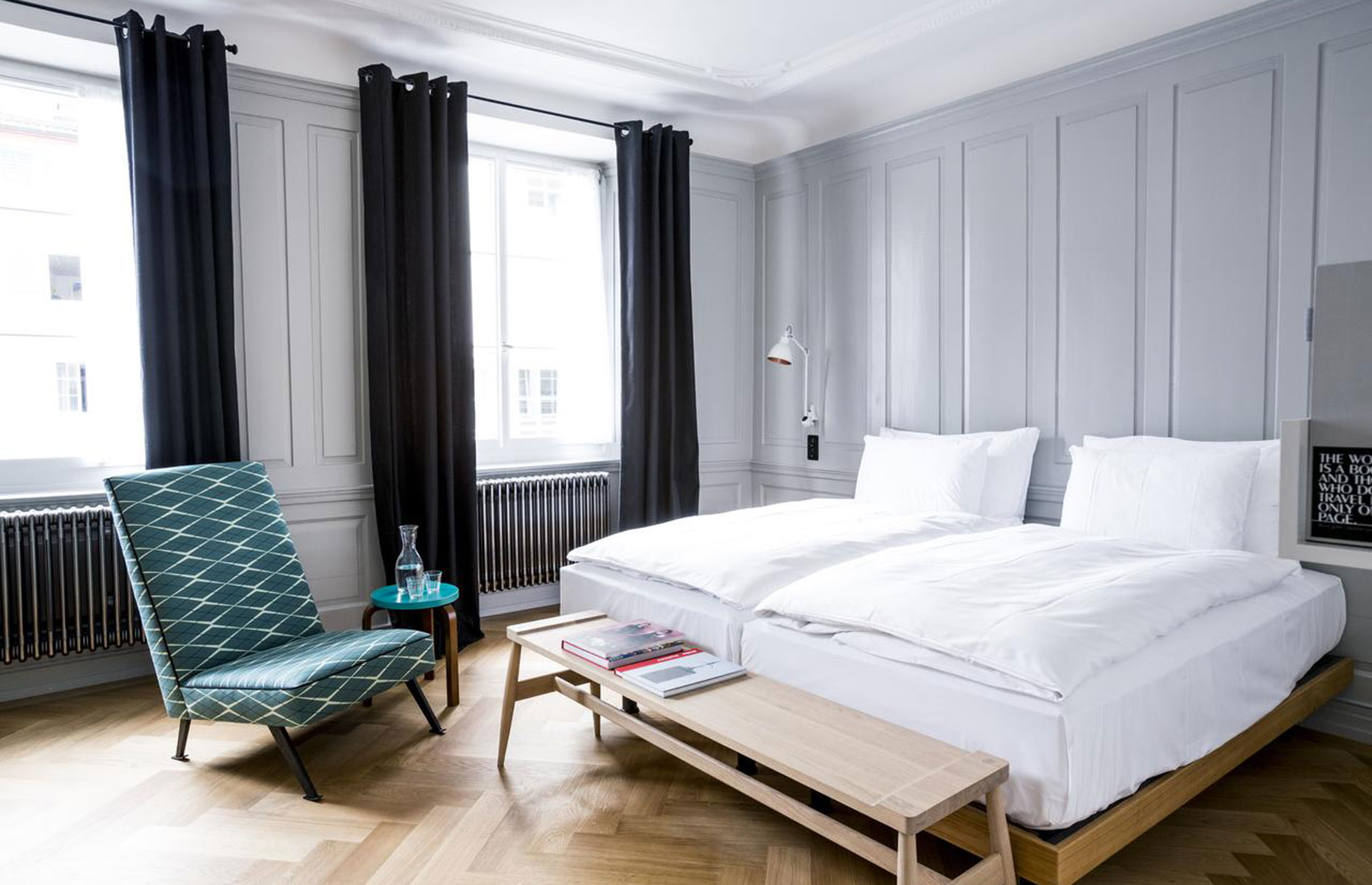 Marktgasse Hotel, in the Old Town of Zurich is a boutique hotel in the city