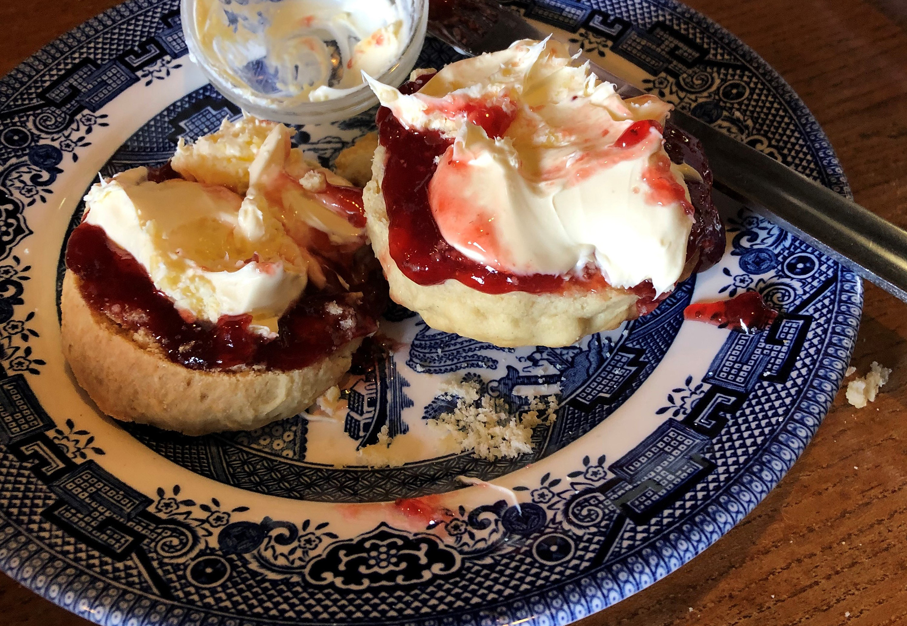 Scones at Belinda's Tea Rooms