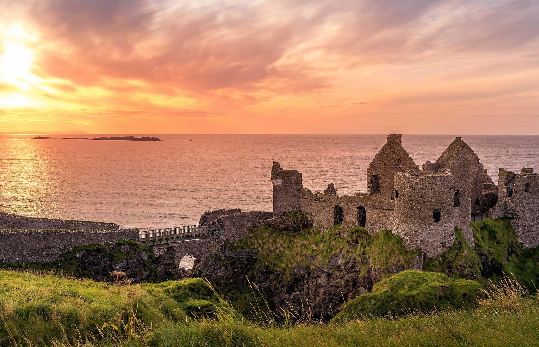 Dunluce Castle, Country Antrim (Dawid K Photography/Shutterstock)