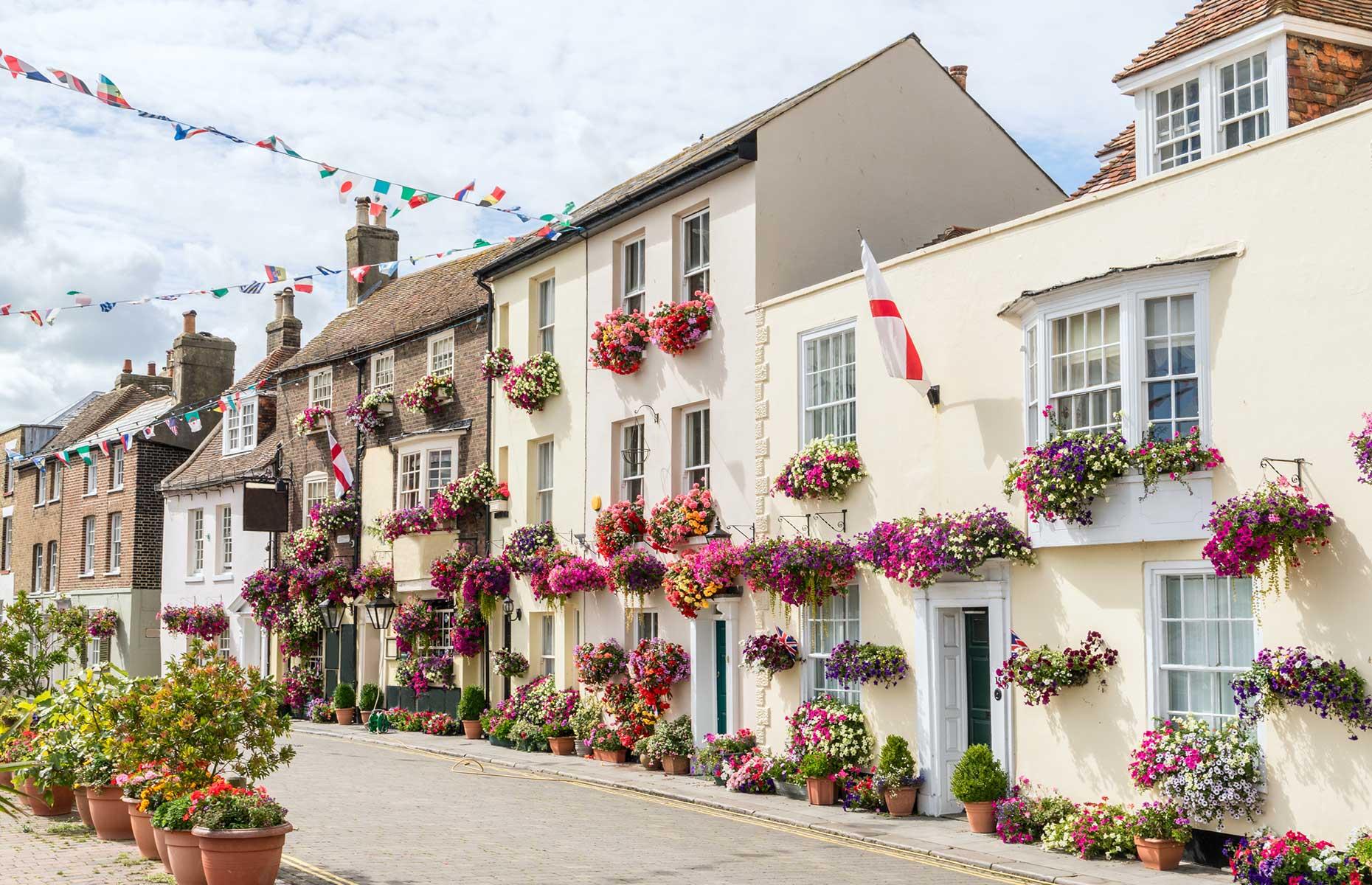 Georgian townhouses, Deal, Kent (Images: Gordon Bell/Shutterstock)