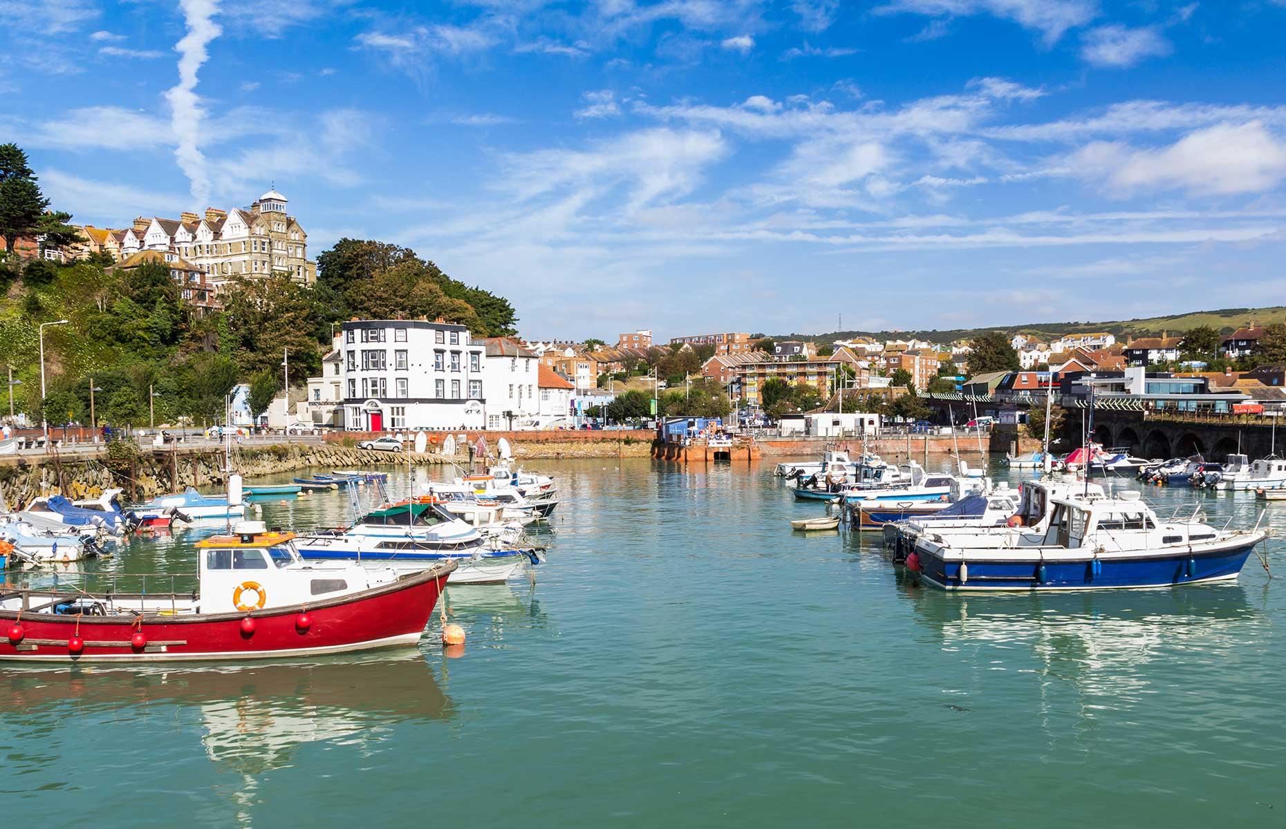 Folkestone, Kent (Images:  ian woolcock/Shutterstock)