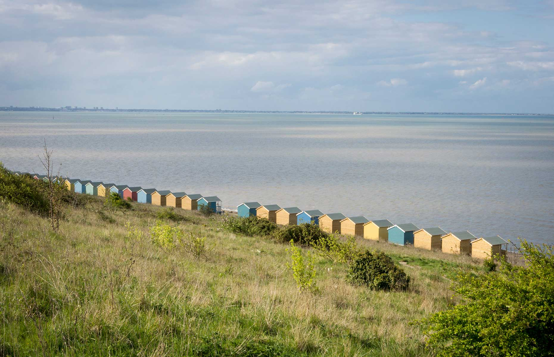 Beach huts on the Isle of Sheppey, Kent (Image: Sue Martin/Shutterstock)