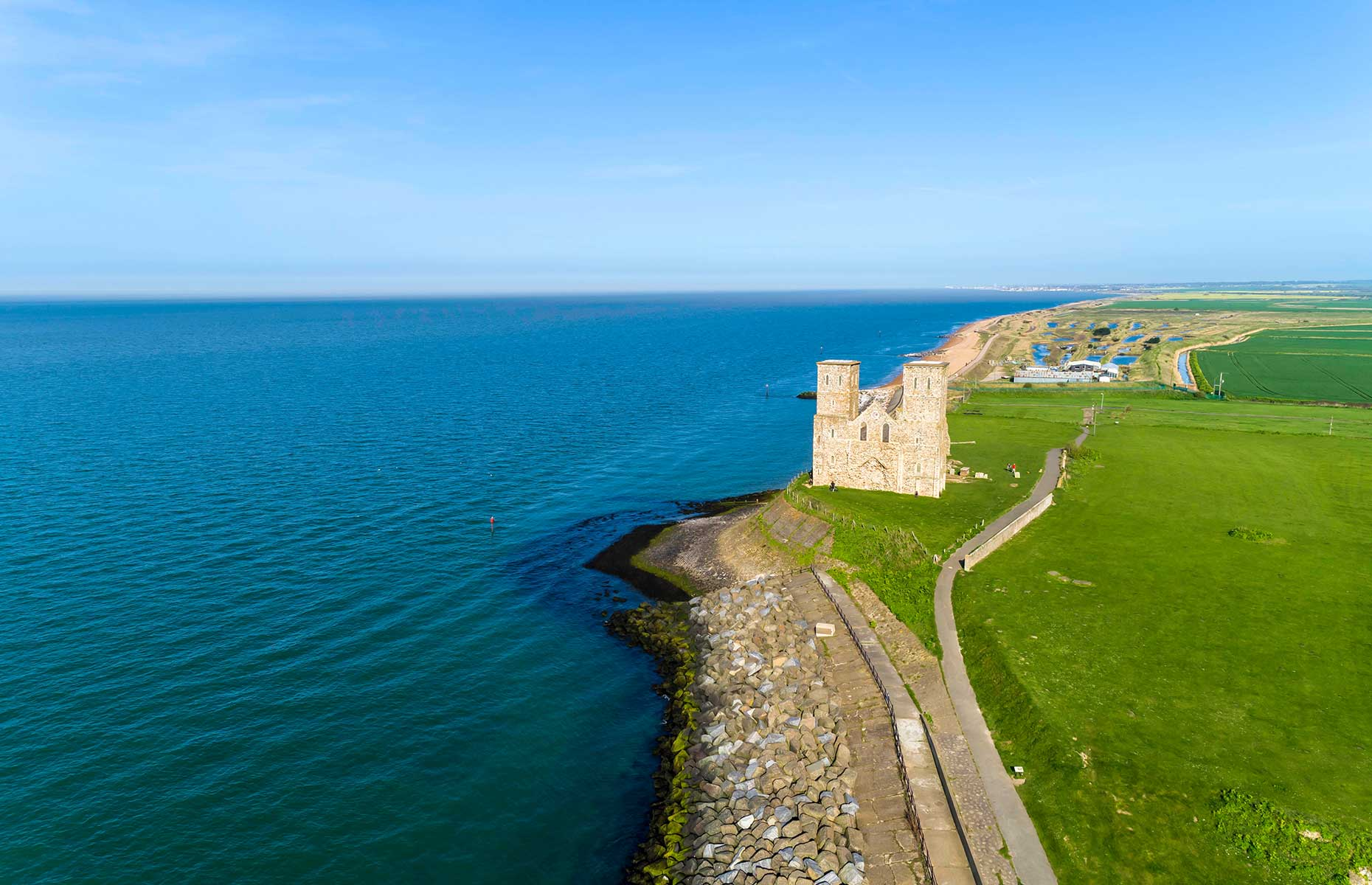 Reculver Towers (Image: sparksy34/Shutterstock)