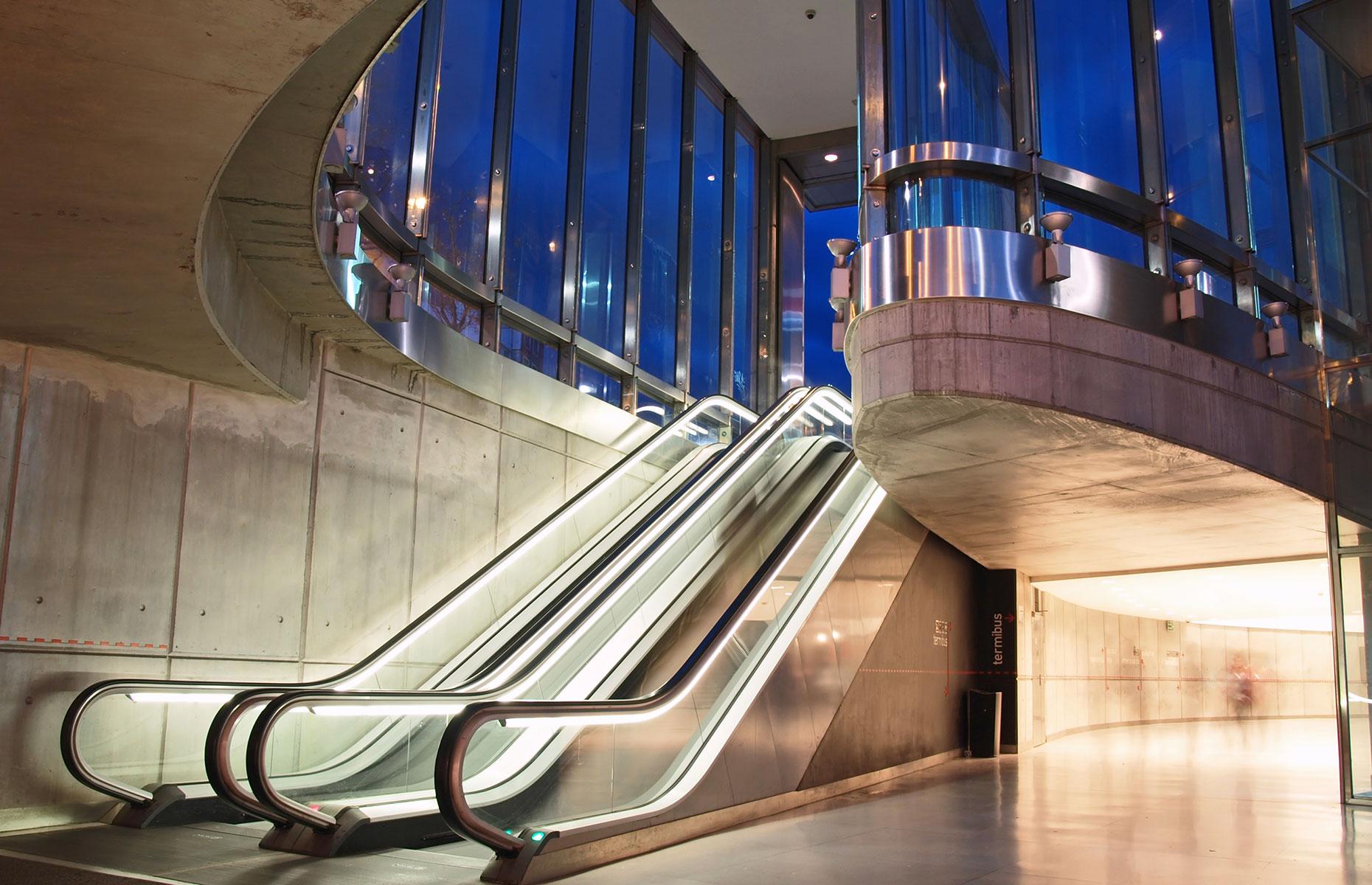 Bilbao's Norman Foster-designed subway (Image: Jarno Gonzalez Zarraonandia/Shutterstock)