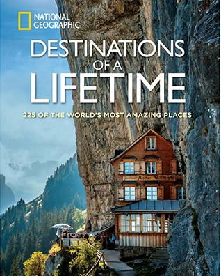 best travel books, destinations of a lifetime