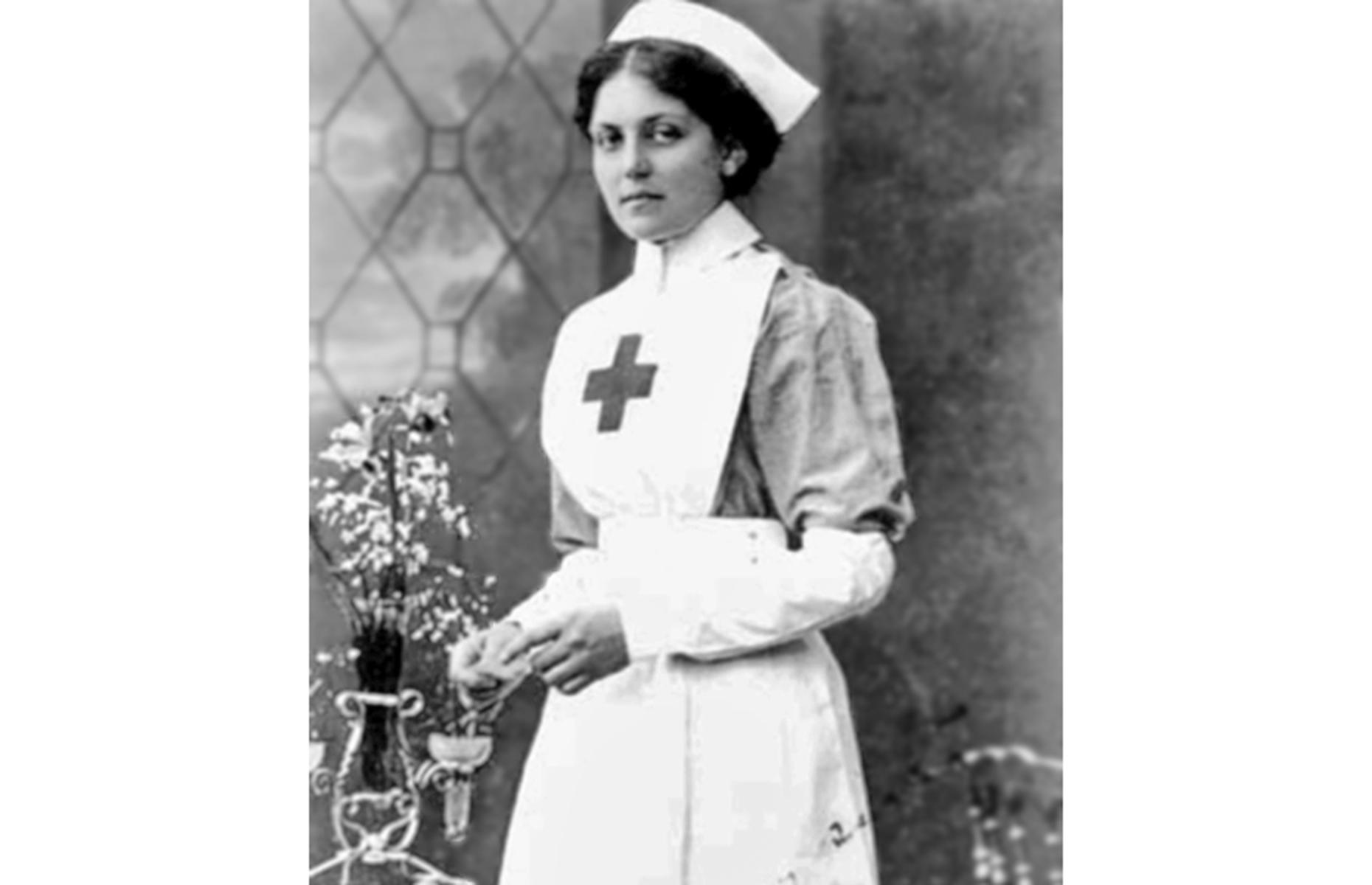 Violet Jessop, a nurse on the HMHS Britannic (Image: Public domain/via Wikimedia Commons)