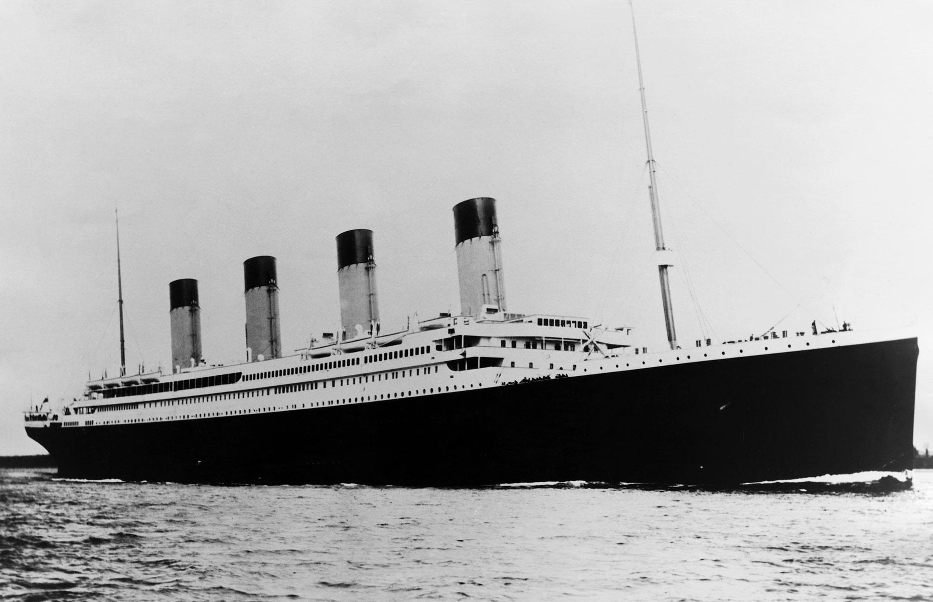 The RMS Titanic (Image: George Rinhart/Corbis via Getty Images)