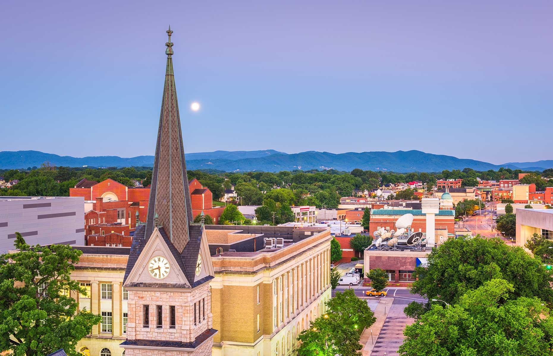 Roanoke, Virginia, Shutterstock