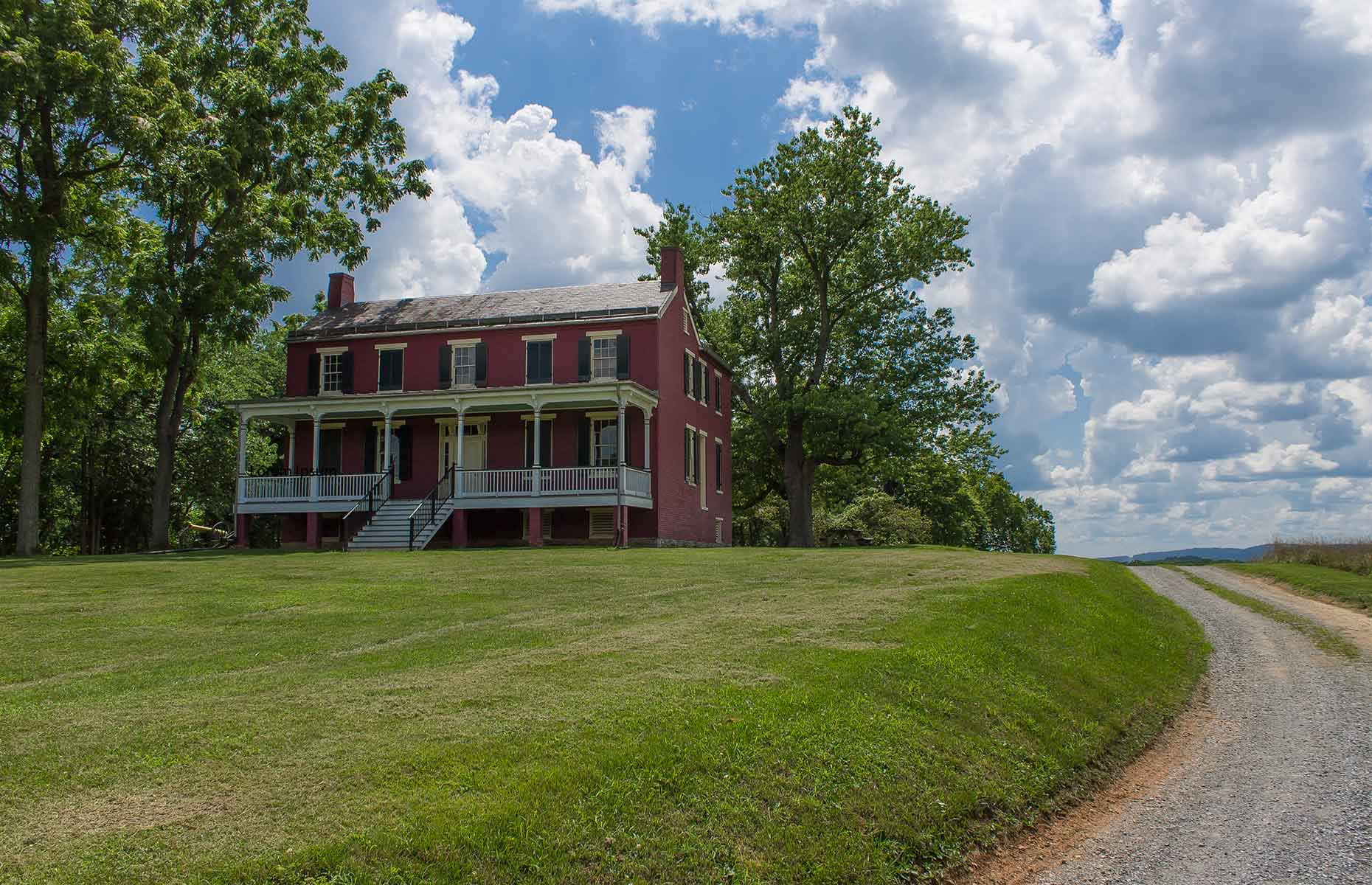 Worthington House, in the Monocacy National Park