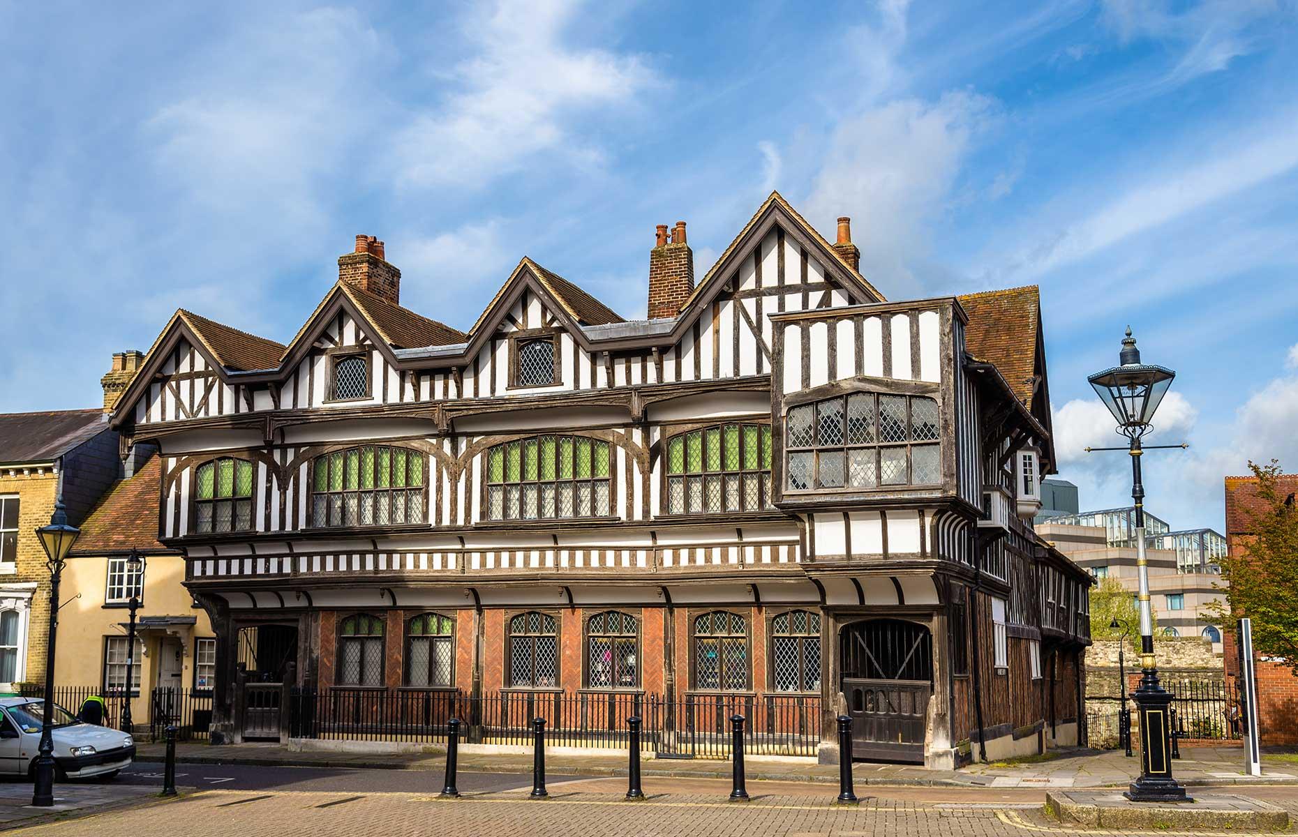 Tudor House Museum Southampton (Image: Leonid Andronov/Shutterstock)