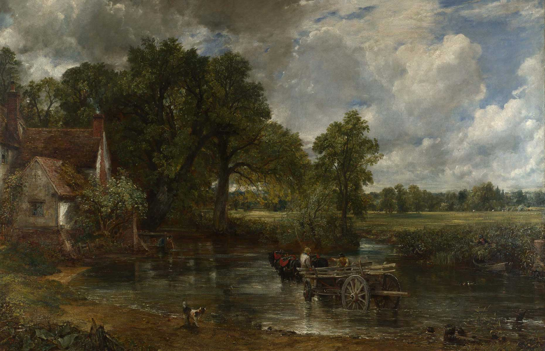 The Hay Wain (Image: John Constable/Public domain/via Wikimedia Commons)