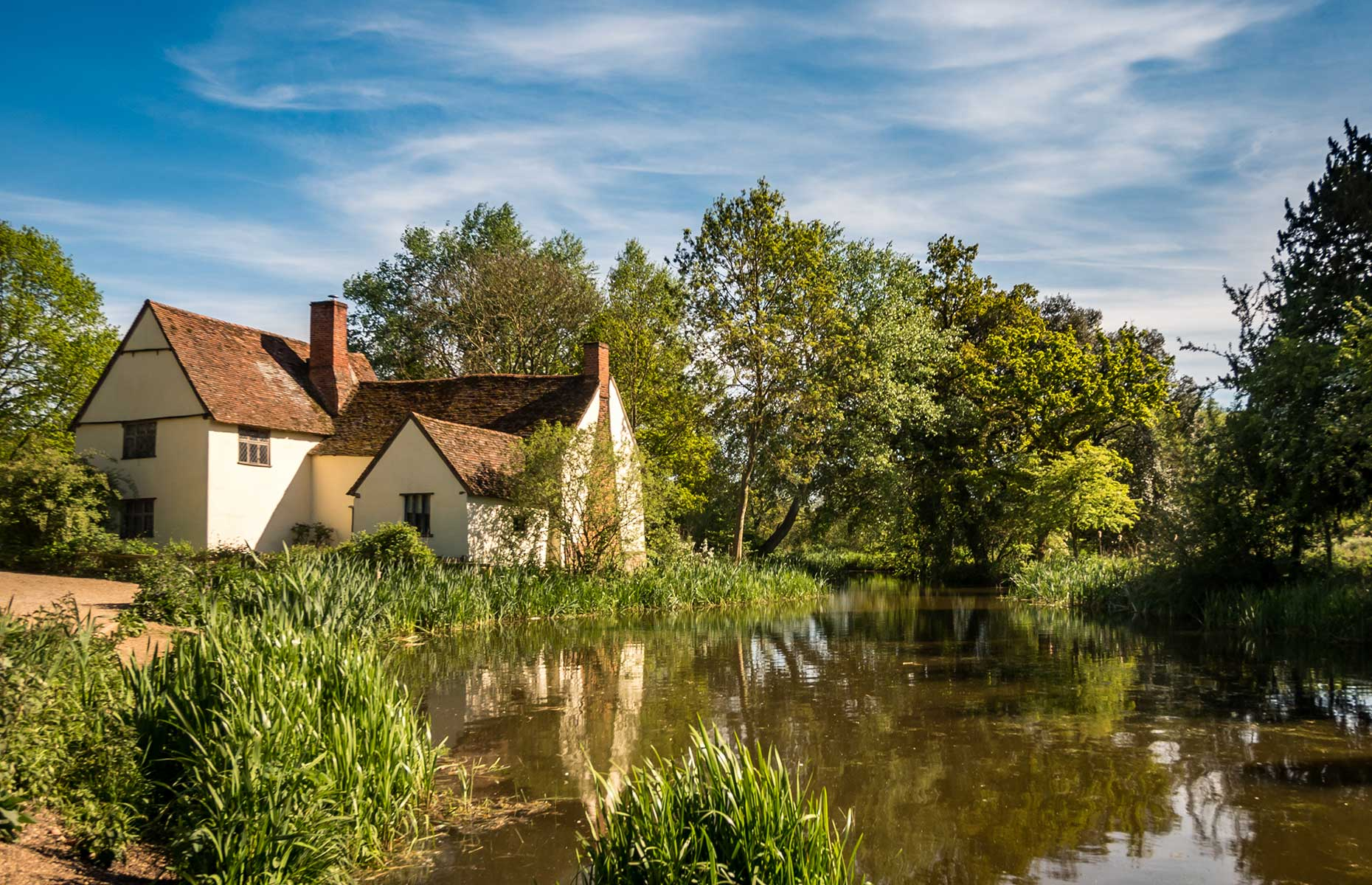 Willy Lott's House in Dedham Vale (Image: pxl.store/Shutterstock)