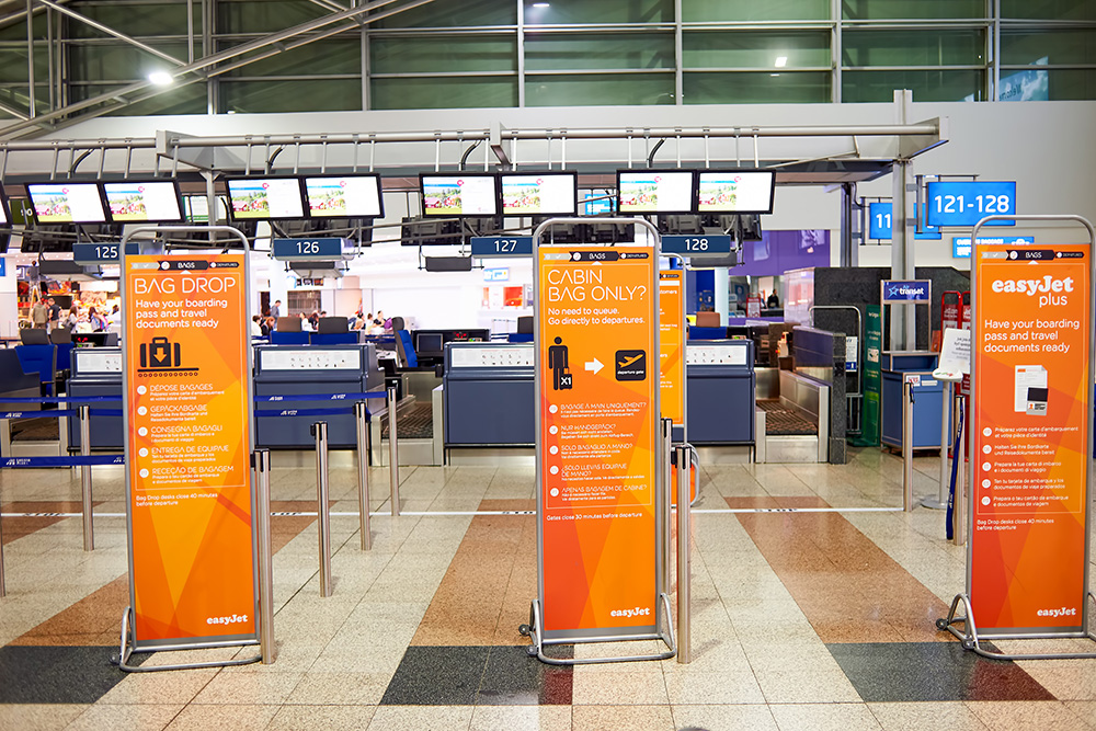 easyJet vs Ryanair fees