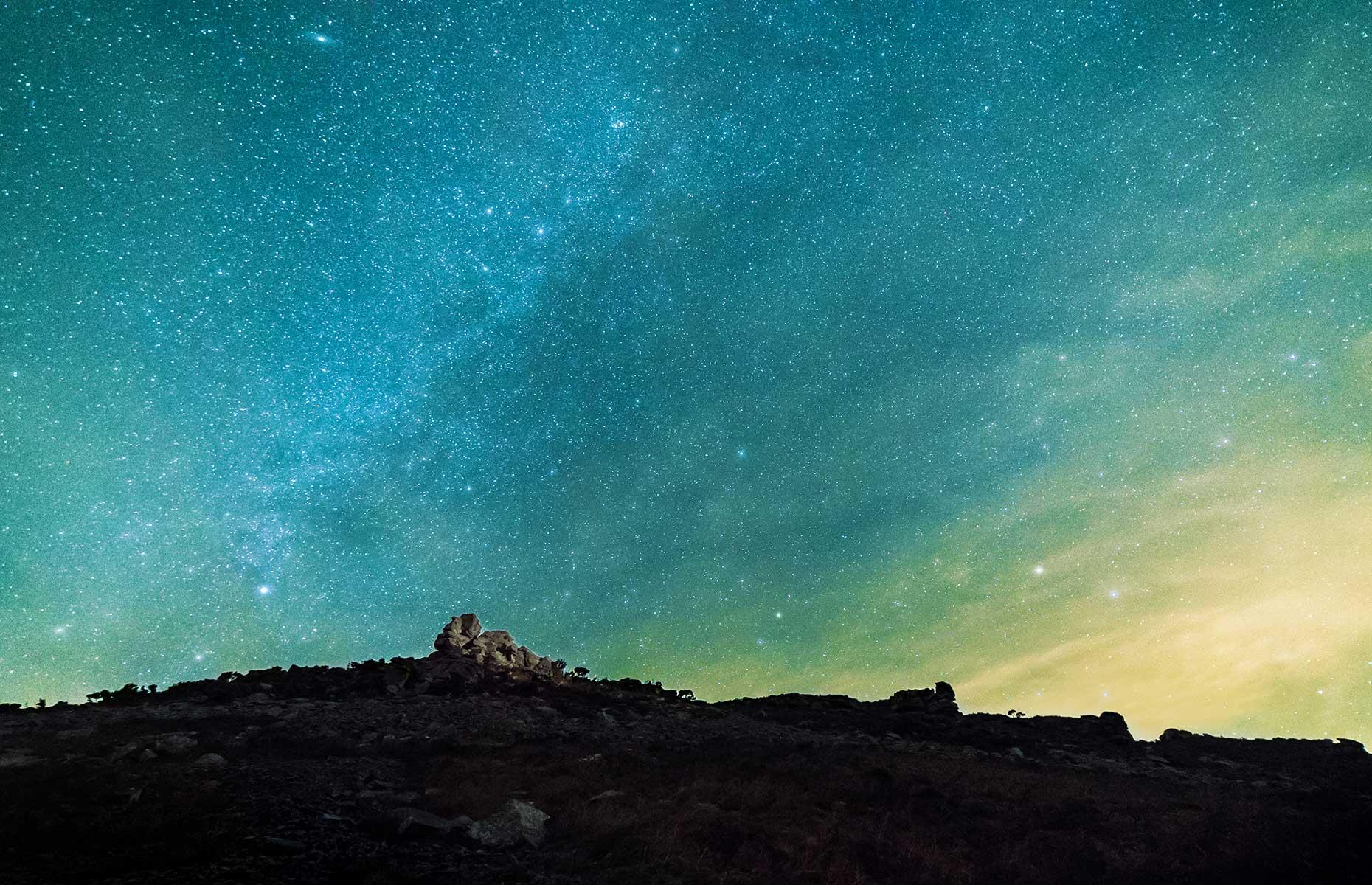 Exmoor National Park dark skies reserve (Arthur Cauty/Shutterstock)