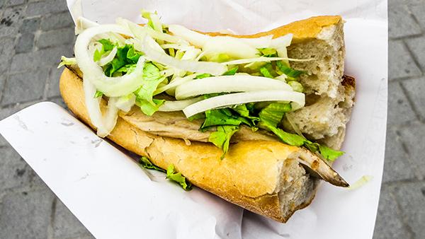 Istanbul fish burger