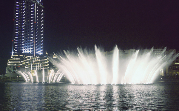 Dubai Fountains show