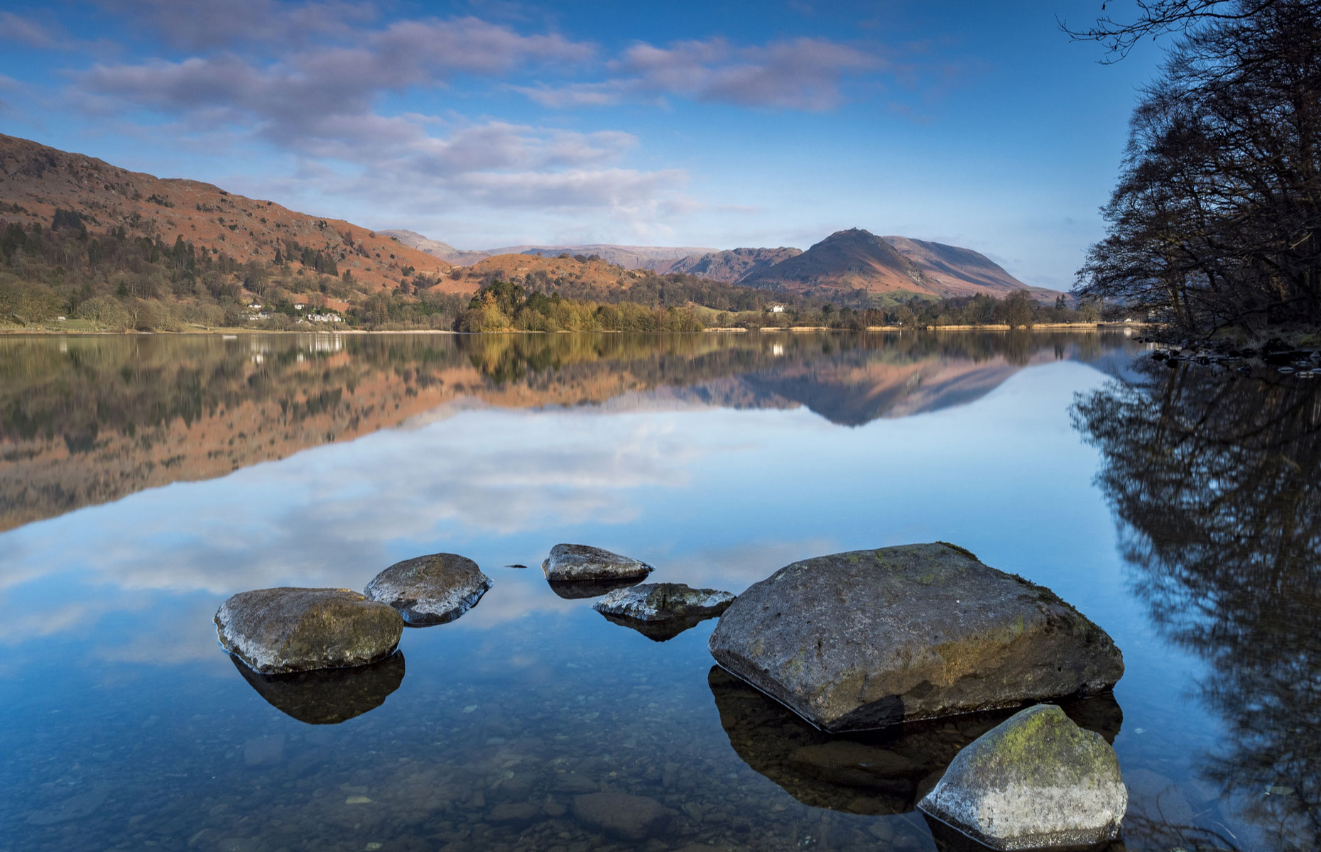 Grasmere lake with reflection (Image: Richard Bowden/Shutterstock)