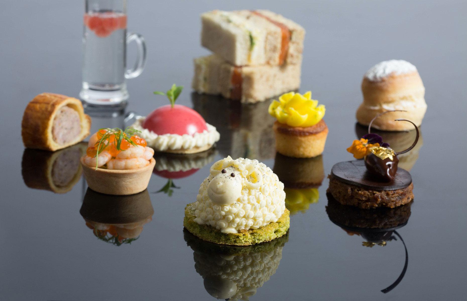 Afternoon tea cakes Gilpin Lodge
