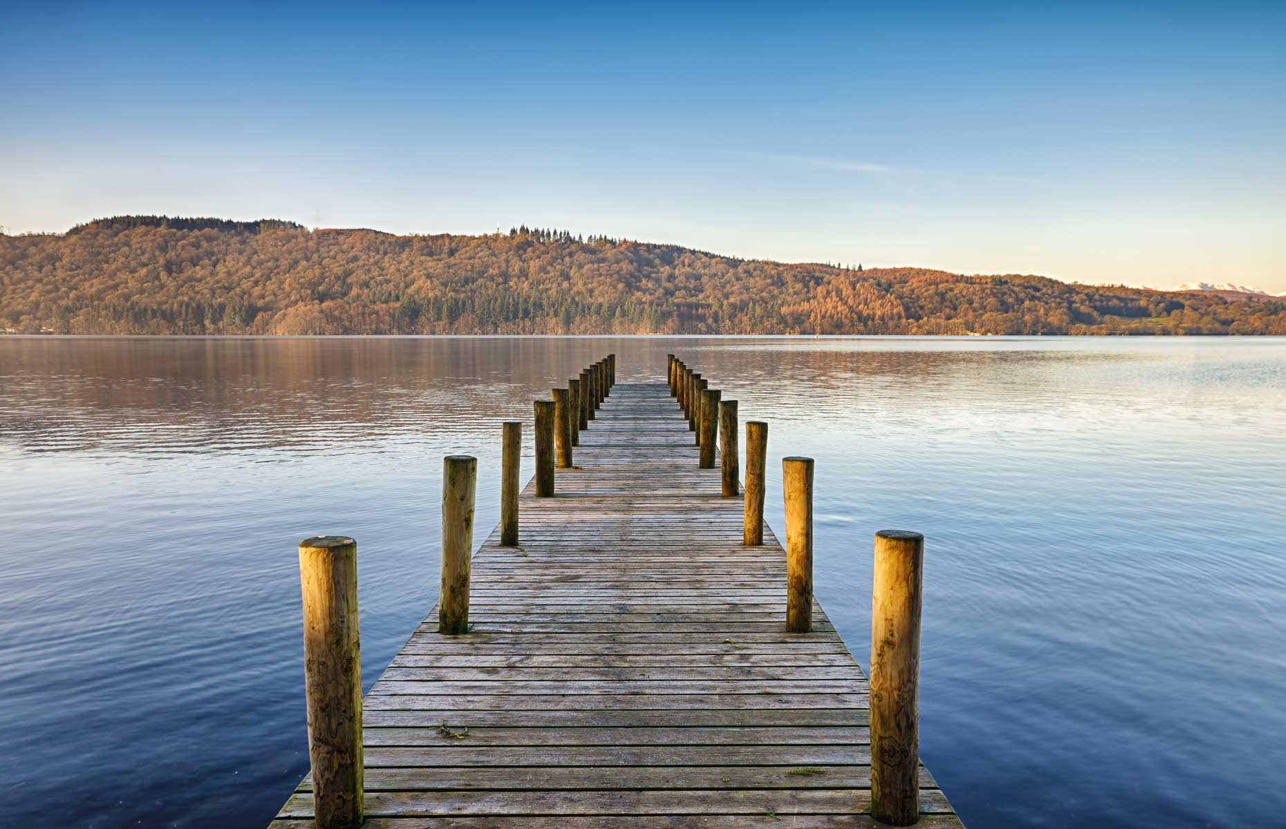 Lake Windermere jetty (Image: Kevin Eaves/Shutterstock)