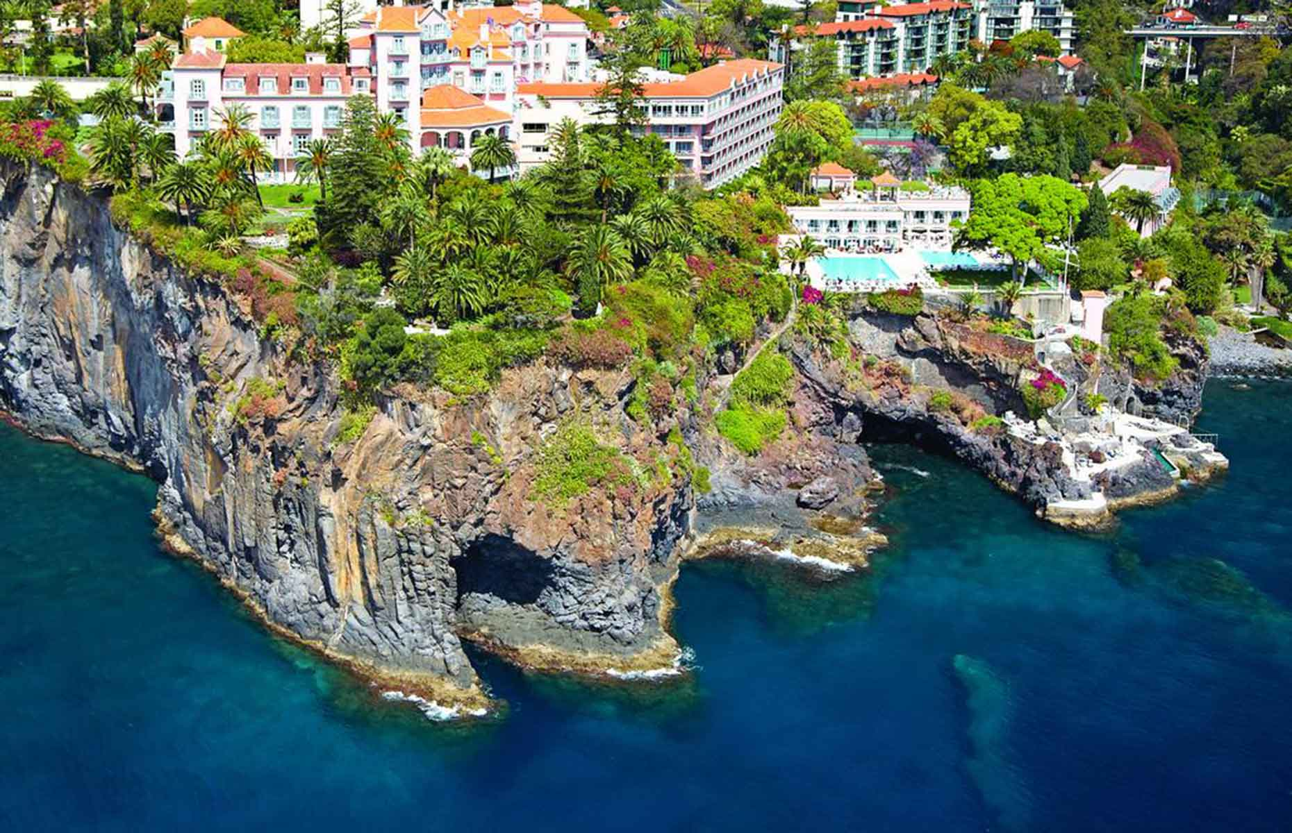 Belmond's Reid's Palace is one of Funchal's most luxurious stays (Image: Belmond Reid's Palace/Booking.com)