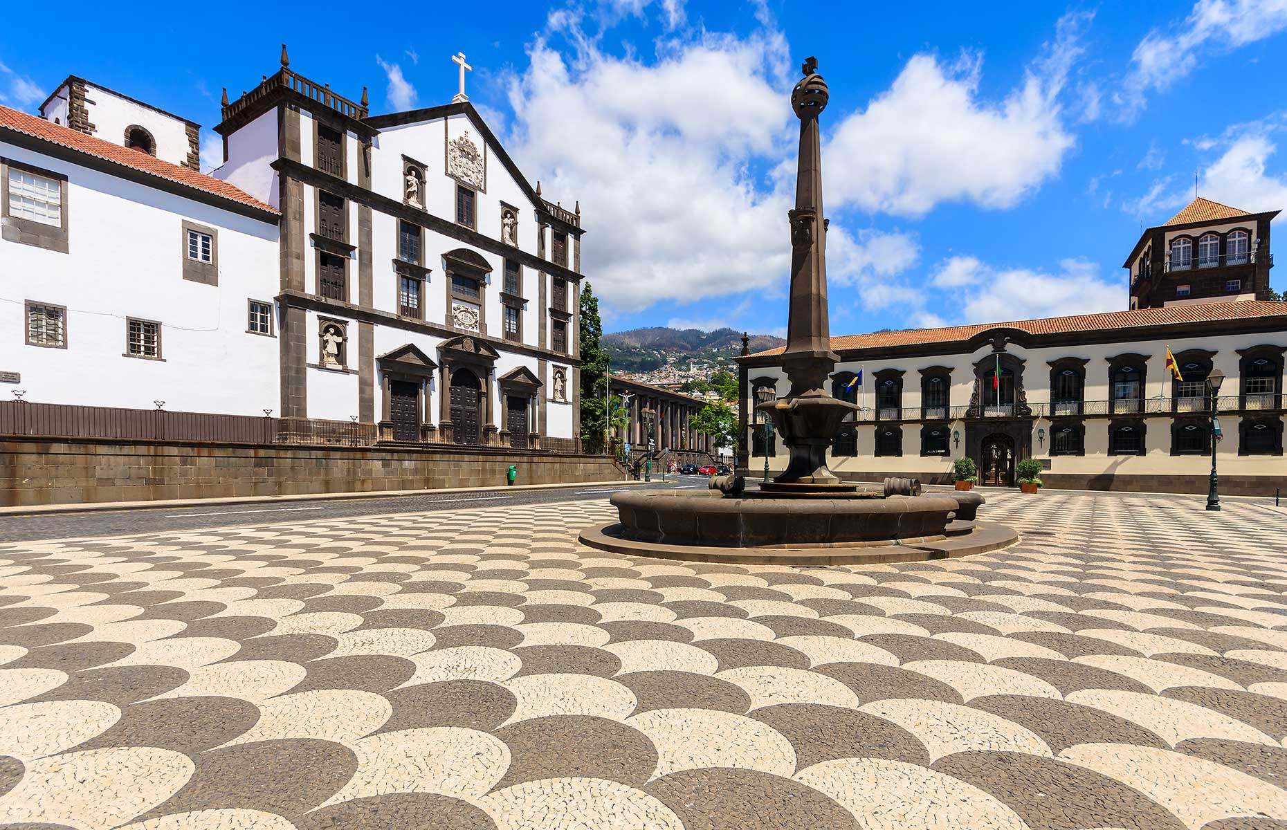 Main square in the historic heart of Funchal (Image: Pawel Kazmierczak/Shutterstock)