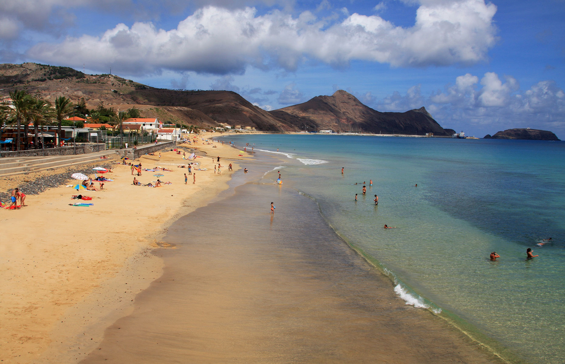 Porto Santo Beach, two-hours' from Funchal (image: Francisco Caravana/Shutterstock)