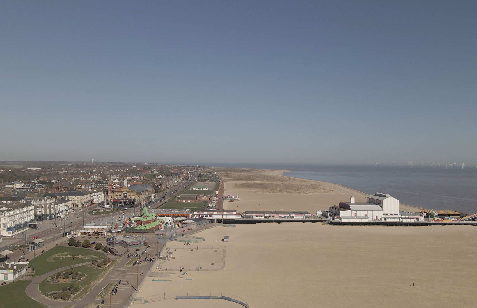 Great Yarmouth view from above (Image: Jayden Johnson/Visit Great Yarmouth)