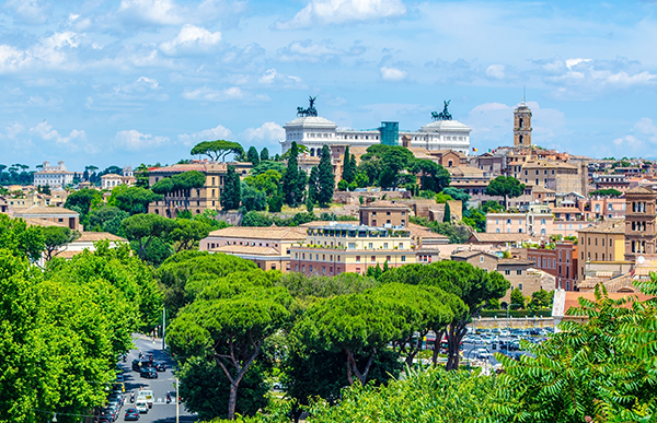 Aventine Hill, Rome, Italy