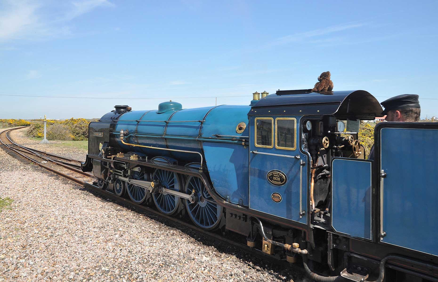 Romney, Hythe and Dymchurch Railway, Kent (Image: Ron Ellis/Shutterstock)