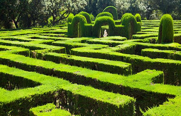 Labyrinth park, Barcelona