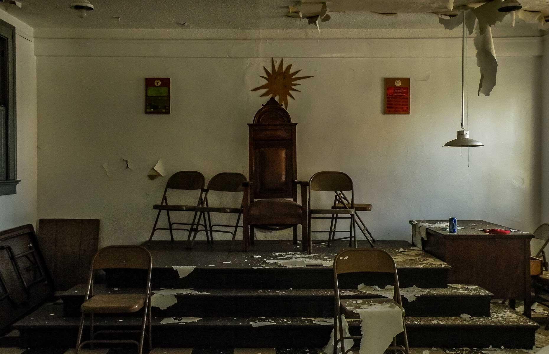 Masonic Temple, Birmingham Alabama (Image: Abandoned Southeast)