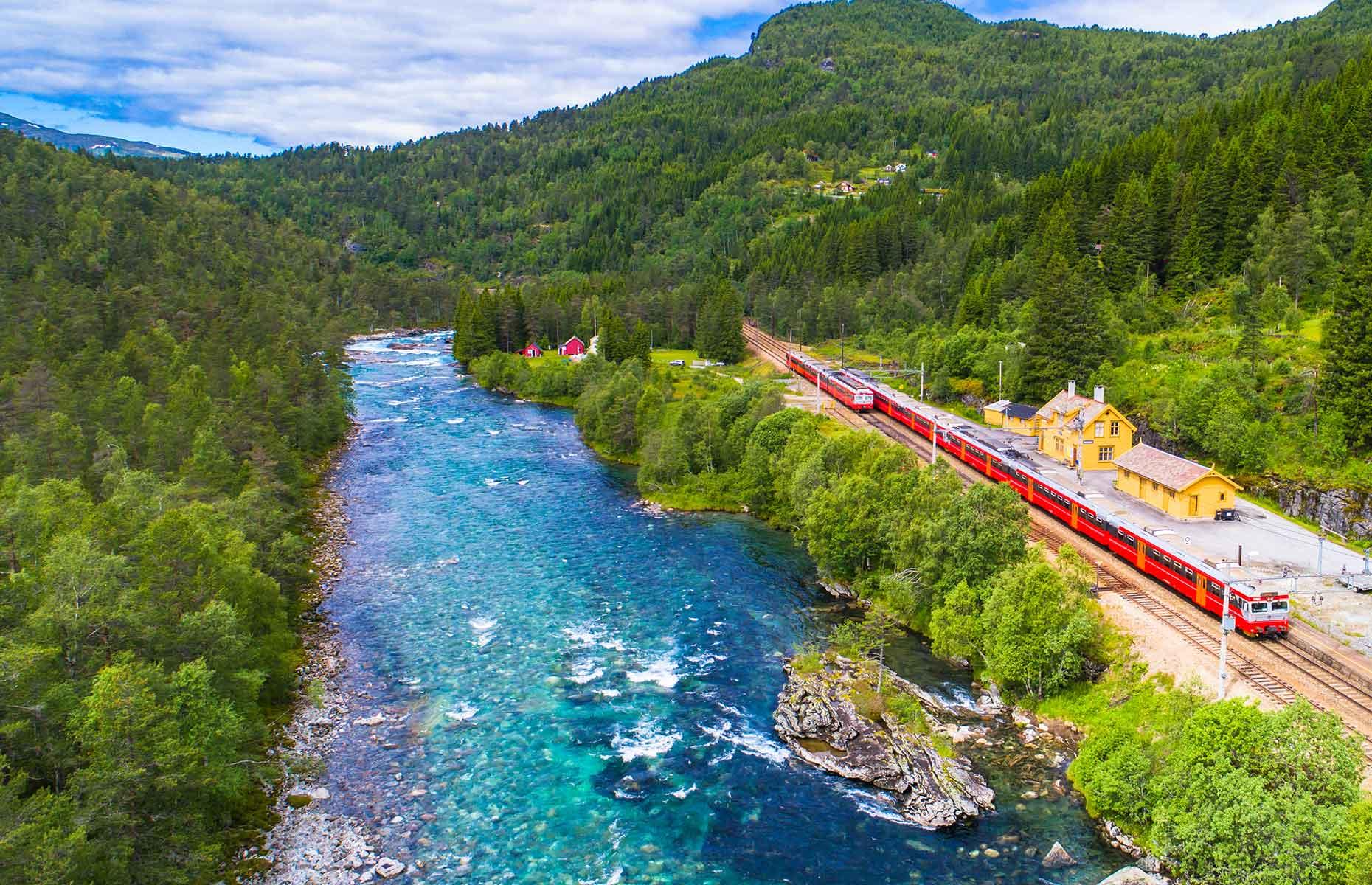 Bergen Railway (Image: Marius Dobilas/Shutterstock)
