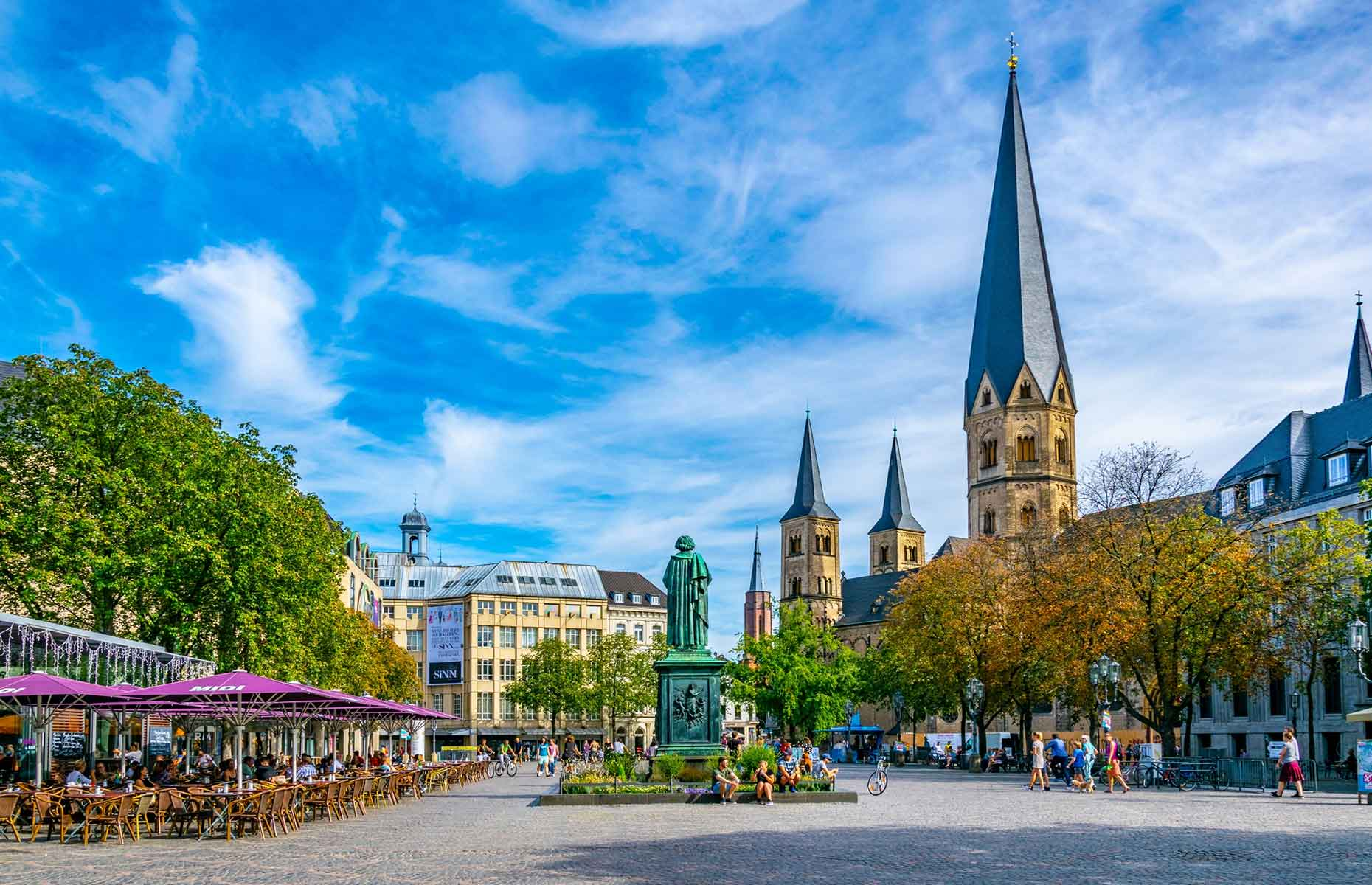 Munsterplatz in Bonn, Germany (Image: trabantos/Shutterstock)