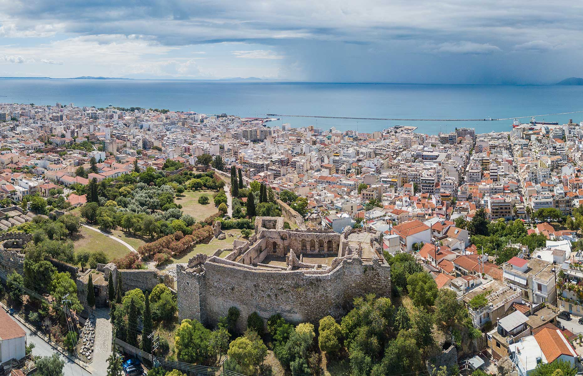 View of Patras, a city in the Peloponnese, Greece (Image: Max Topchii/Shutterstock)