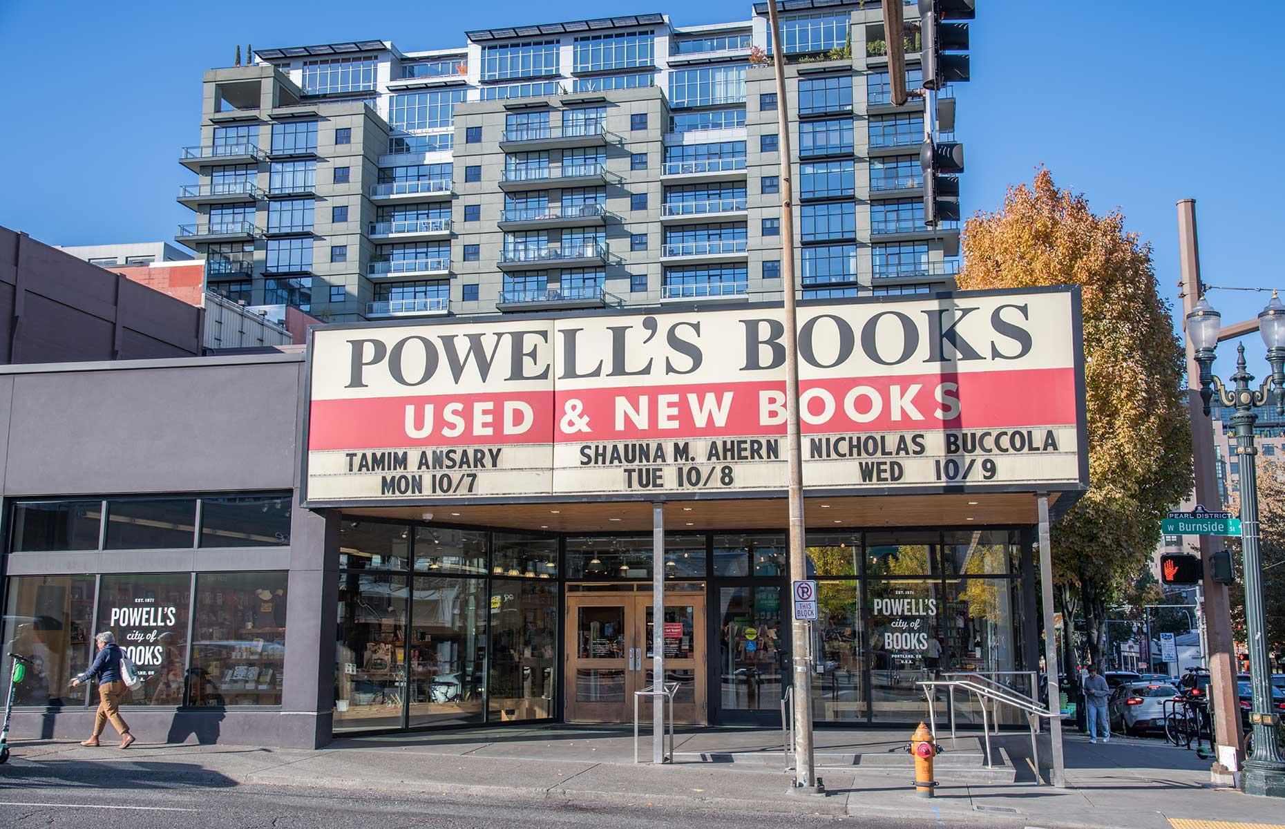 Powell's City Of Books, Portland Oregon (Image: Michael Gordon/Shutterstock)